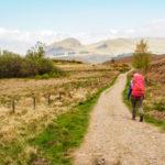 West Highland Way - Auf der ersten Etappe