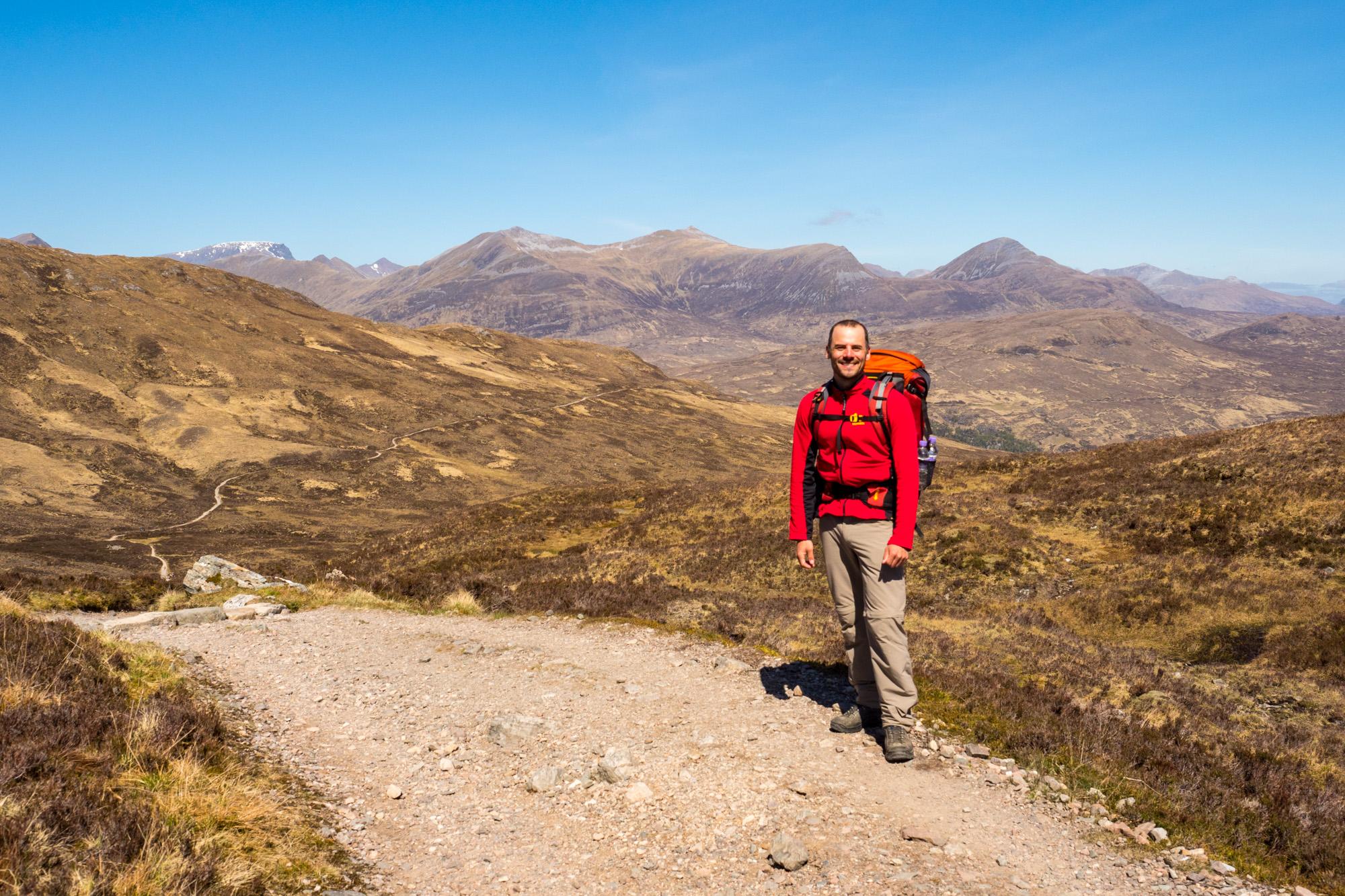 West Highland Way - Übergang bei der Devils Staircase