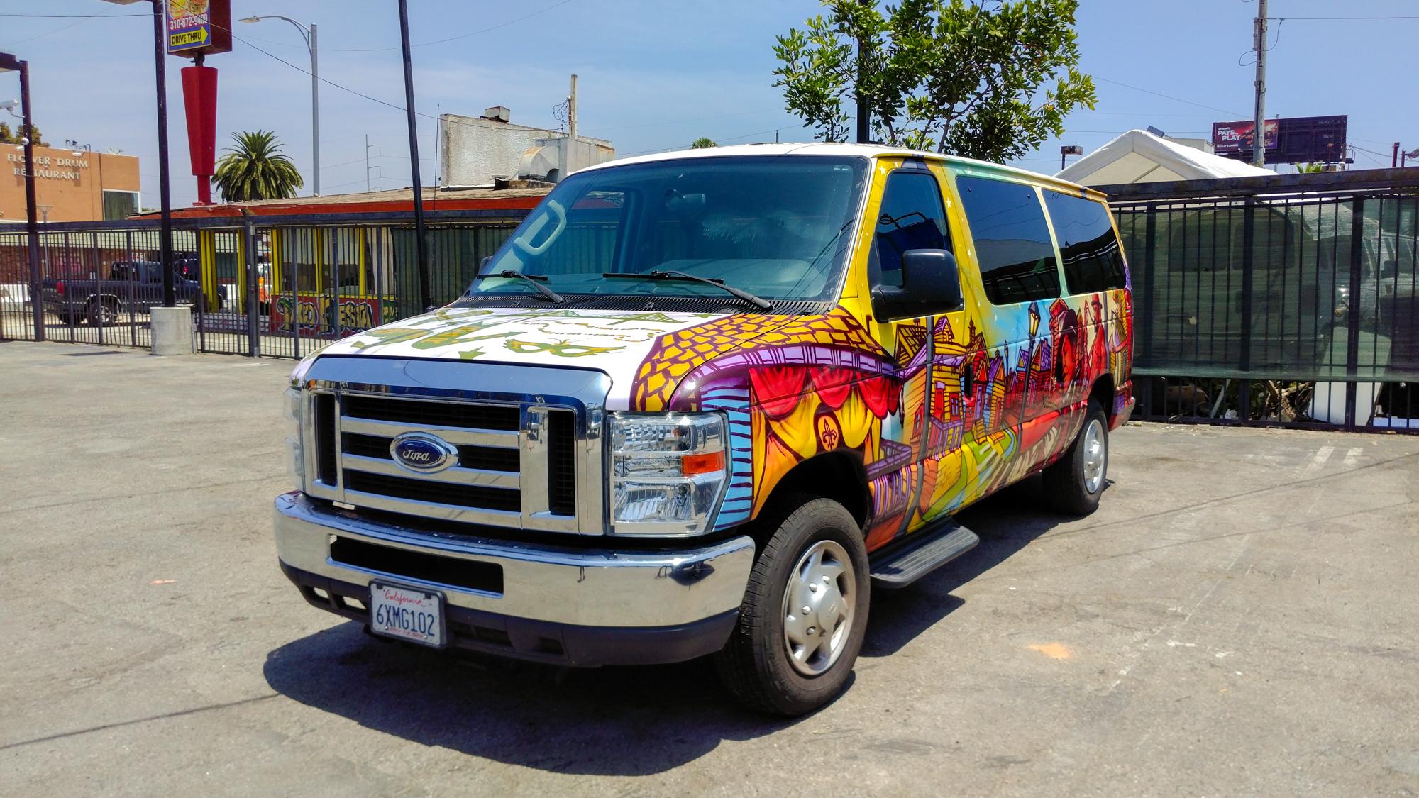 Los Angeles - Übernahme des Escape Campervans