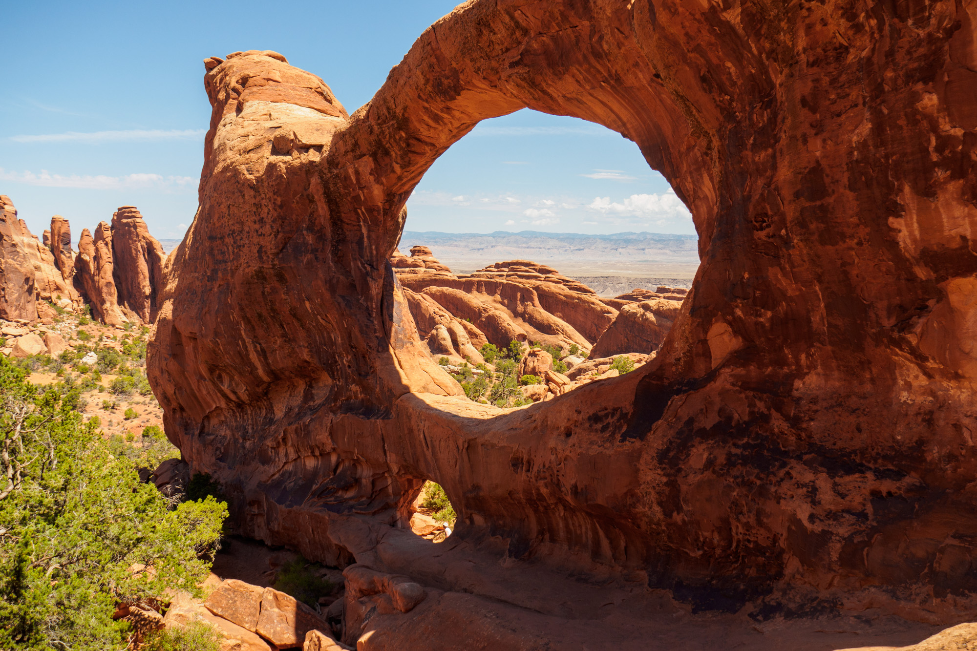 Arches Nationalpark - Double O Arch