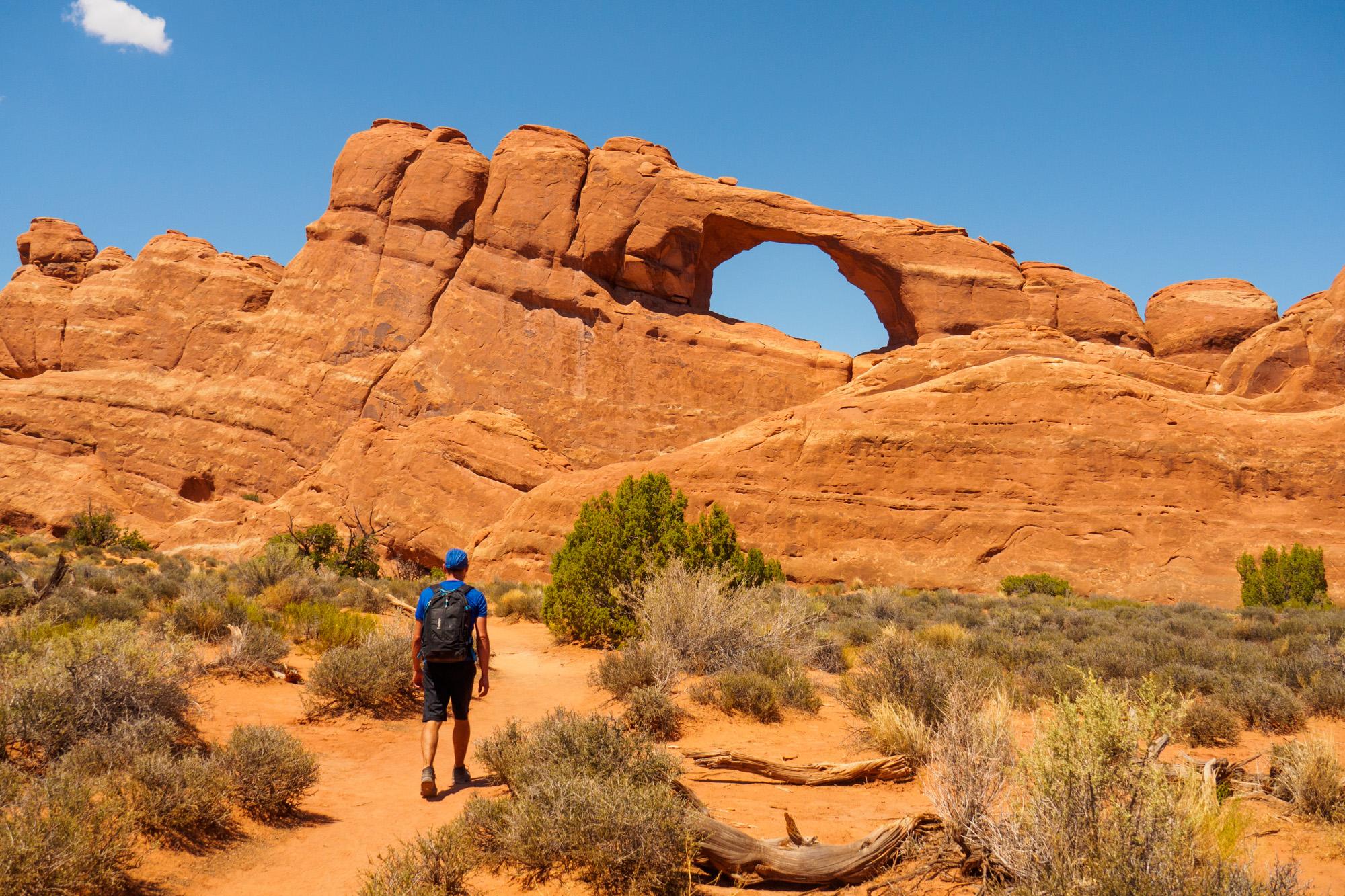Arches Nationalpark - Skyline Arch