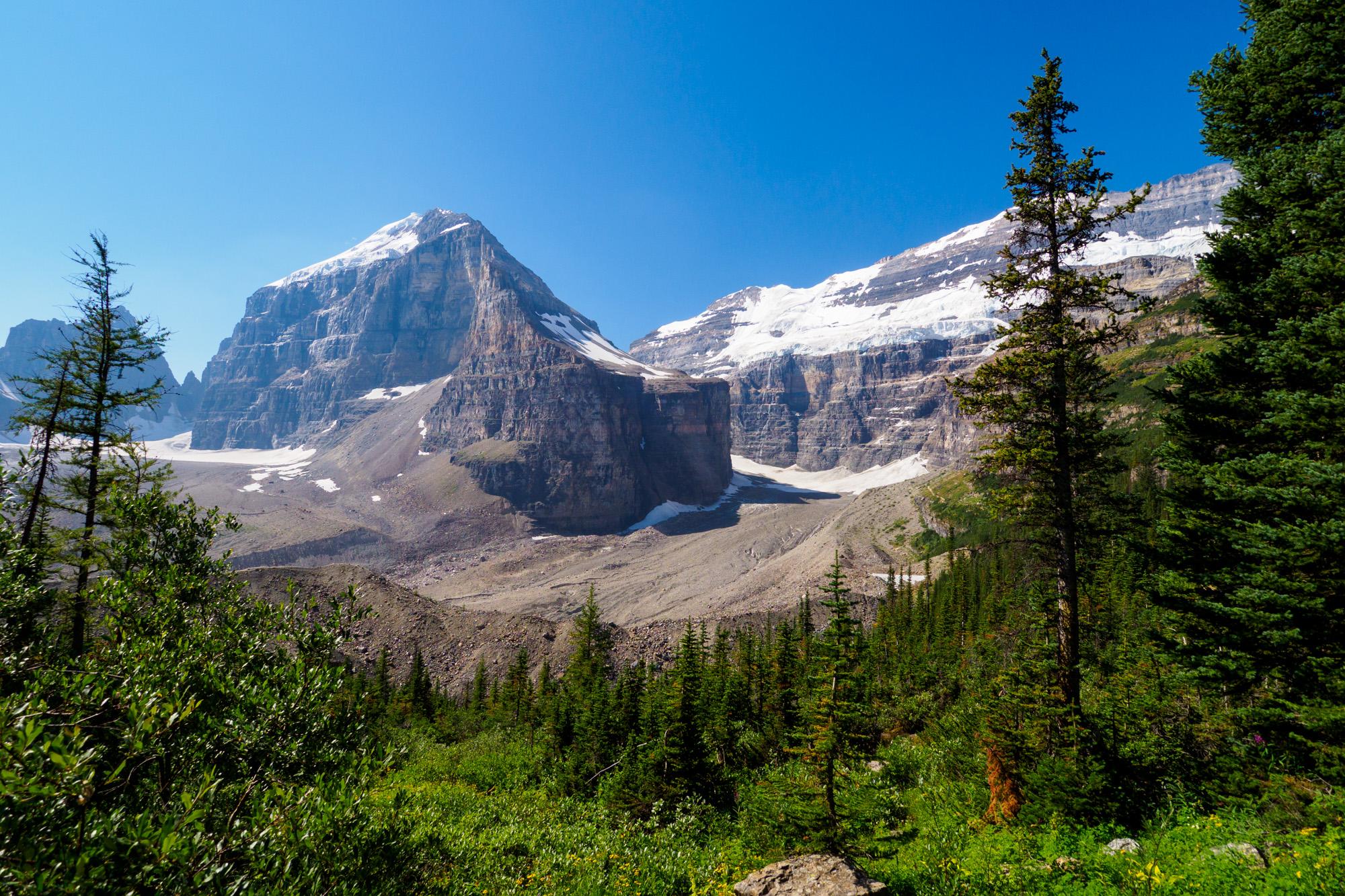 Banff Nationalpark - Aussicht vom Plain of Six Glaciers