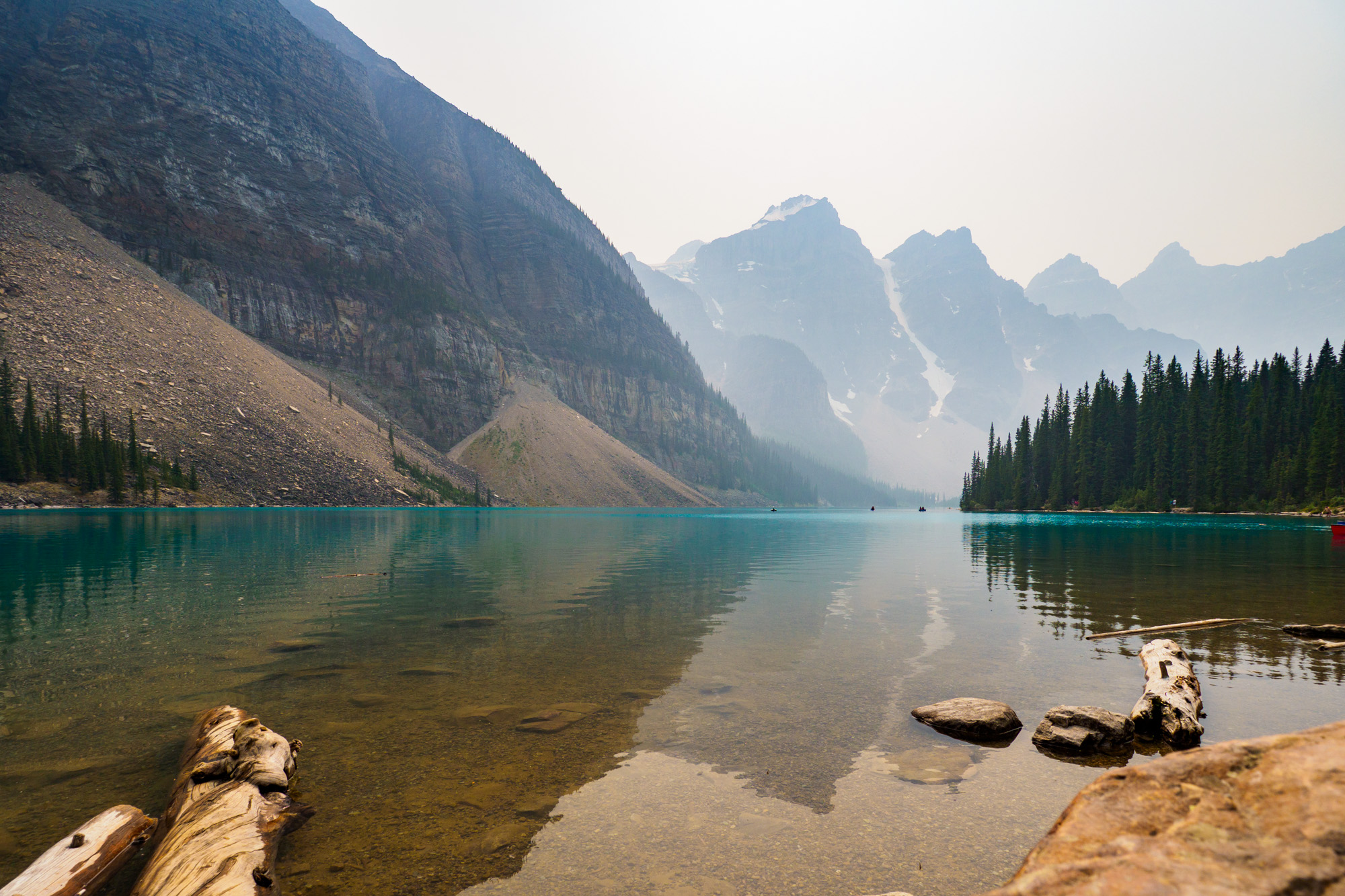 Banff Nationalpark - Moraine Lake
