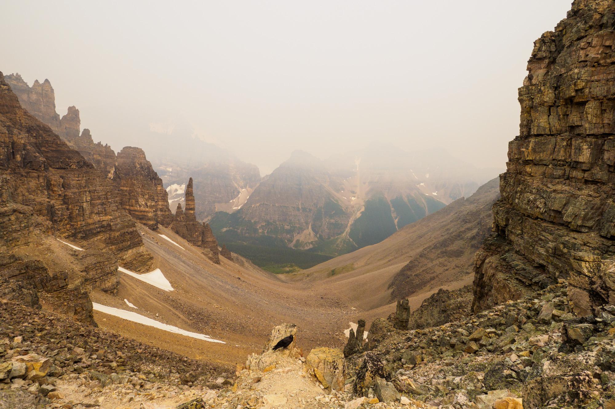 Banff Nationalpark - Aussicht vom Sentinel Pass
