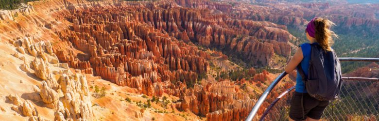 Bryce Canyon Nationalpark - Aussicht vom Bryce Point
