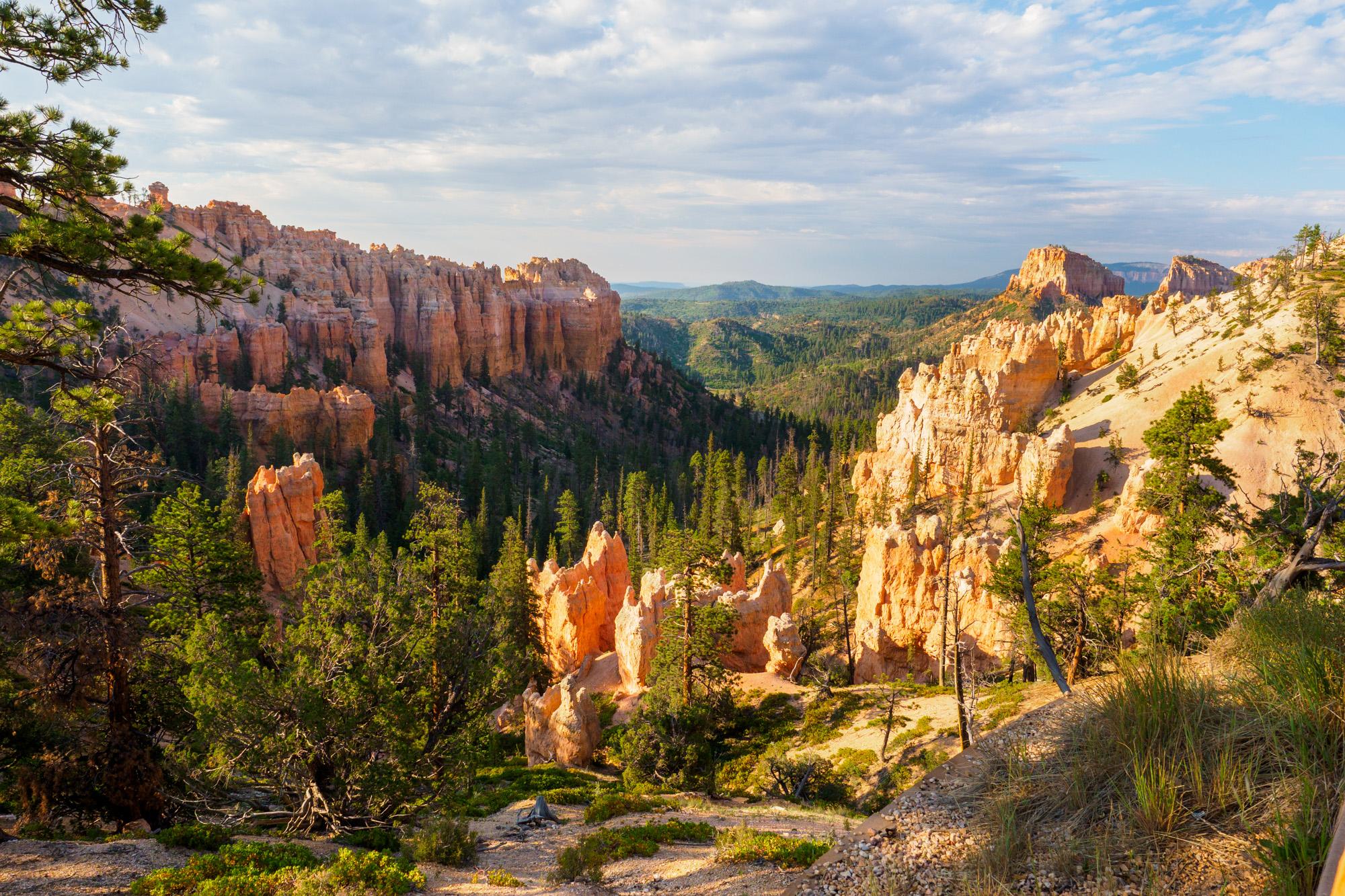 Bryce Canyon Nationalpark - Swamp Canyon mit schönem Rundweg