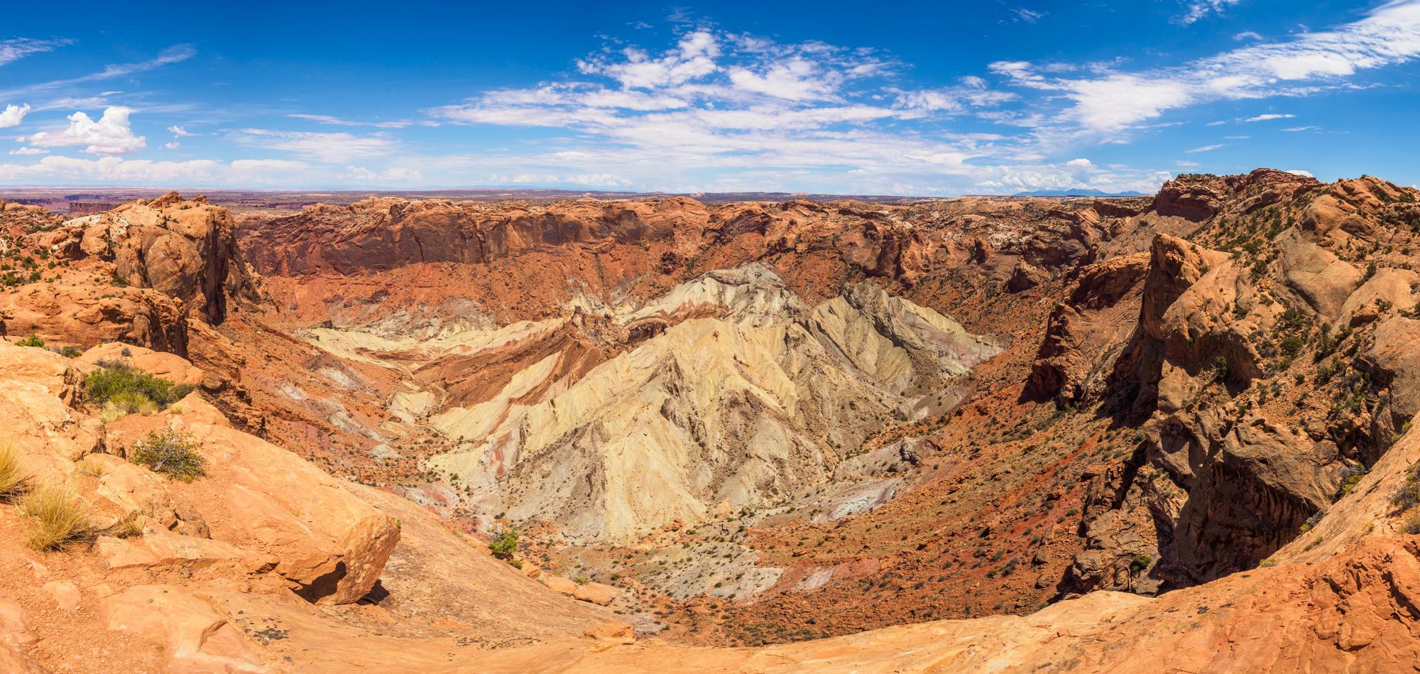 Canyonlands Nationalpark - Upheaval Dome