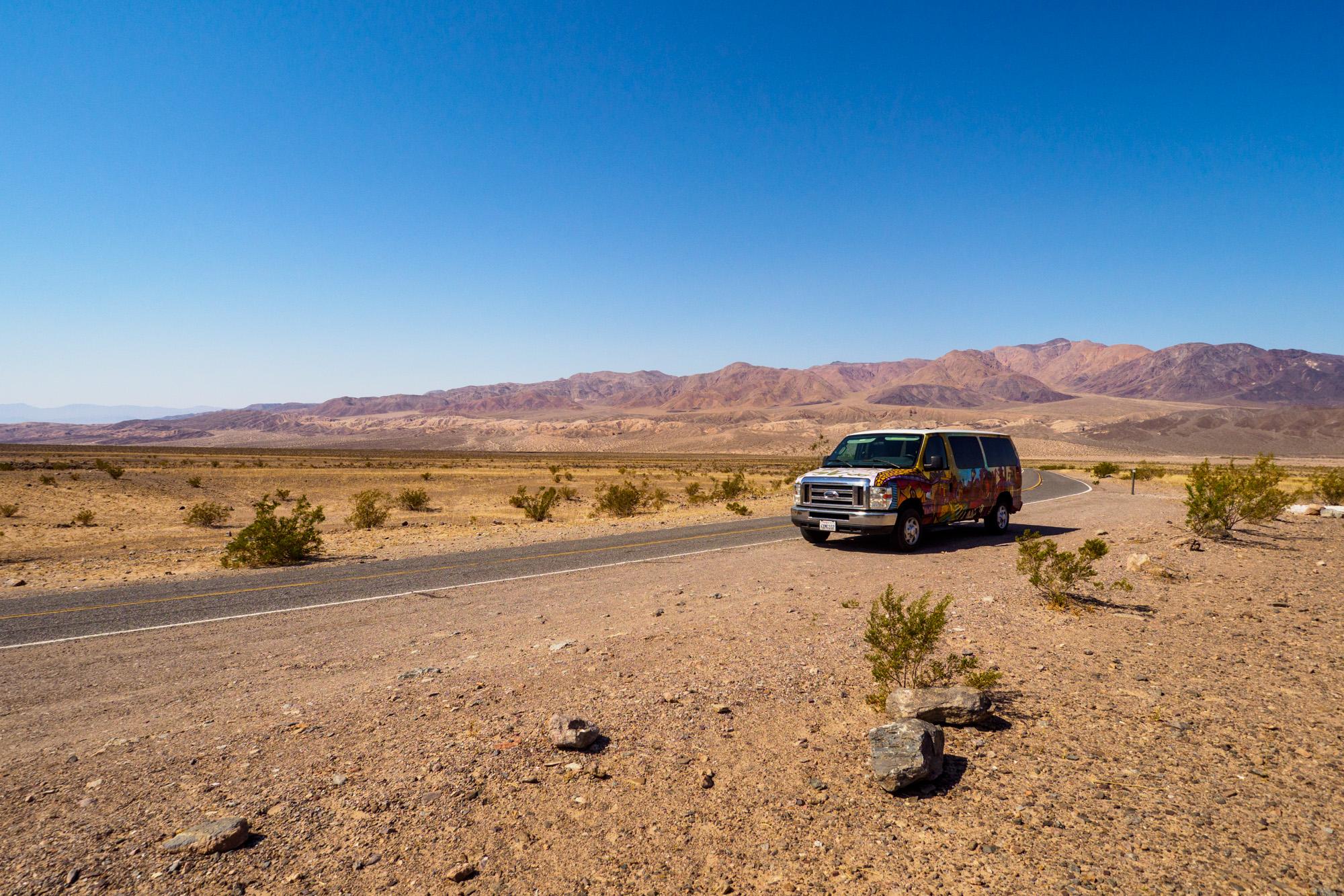 Death Valley Nationalpark - Auf dem Weg nach Las Vegas
