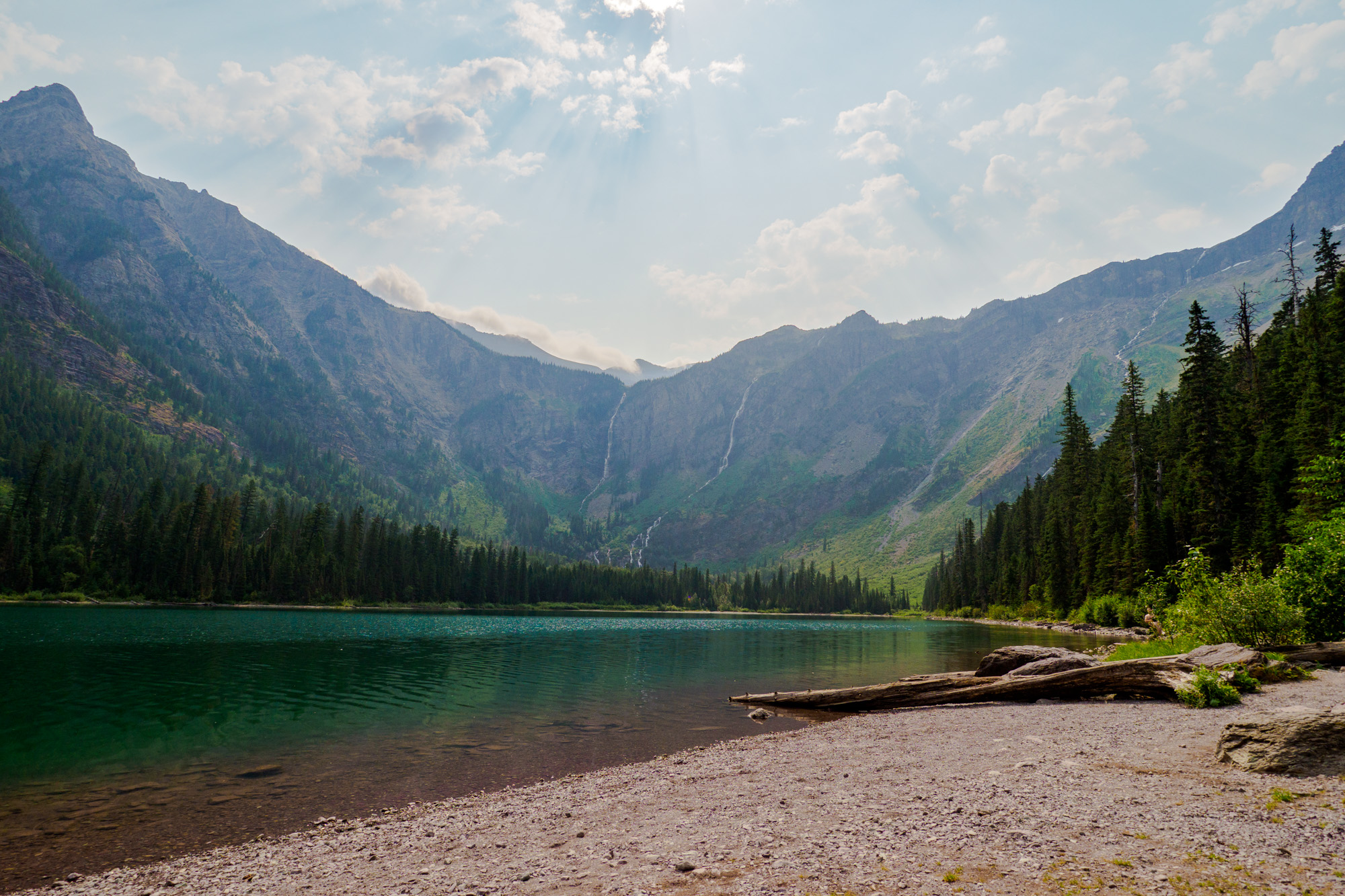Glacier Nationalpark - Avalanche Lake