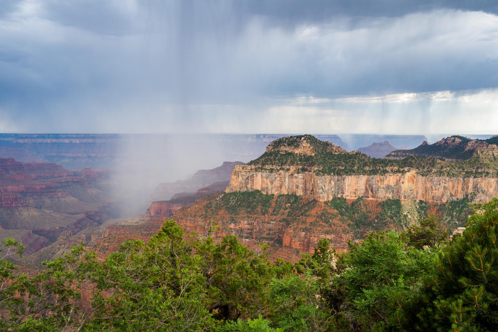 Grand Canyon Nationalpark - Aufziehendes Gewitter