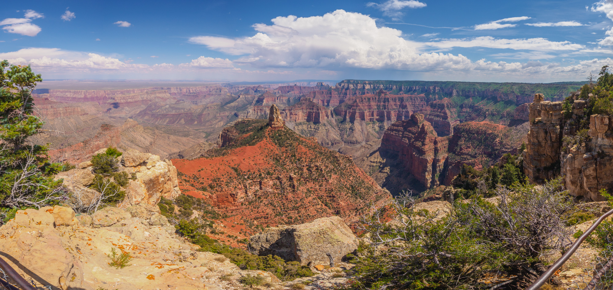 Grand Canyon Nationalpark - Aussicht vom Point Imperial
