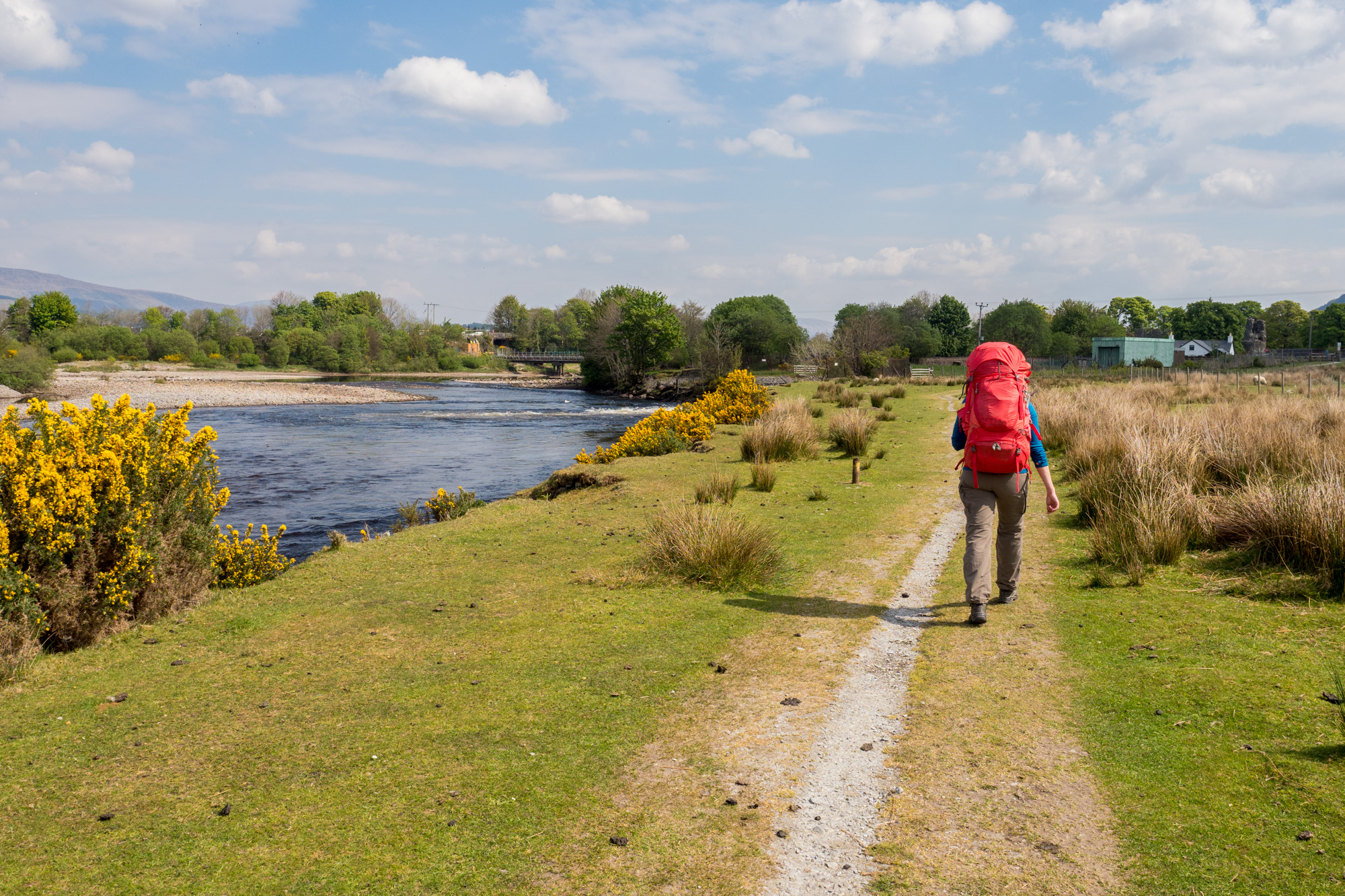 Great Glen Way - Delta des River Lochy
