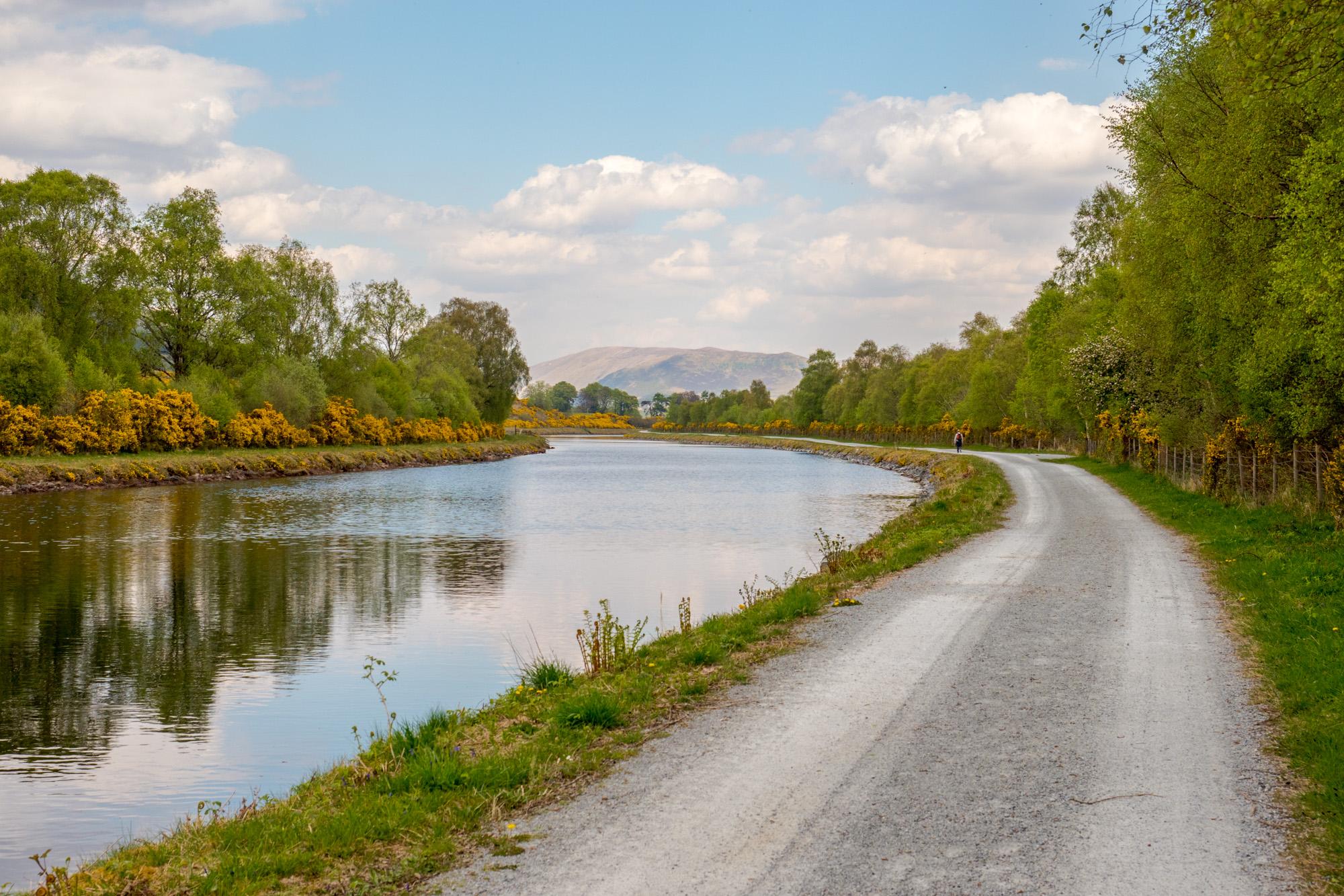 Great Glen Way - Monotoner Wanderweg entlang des Caledonian Kanal