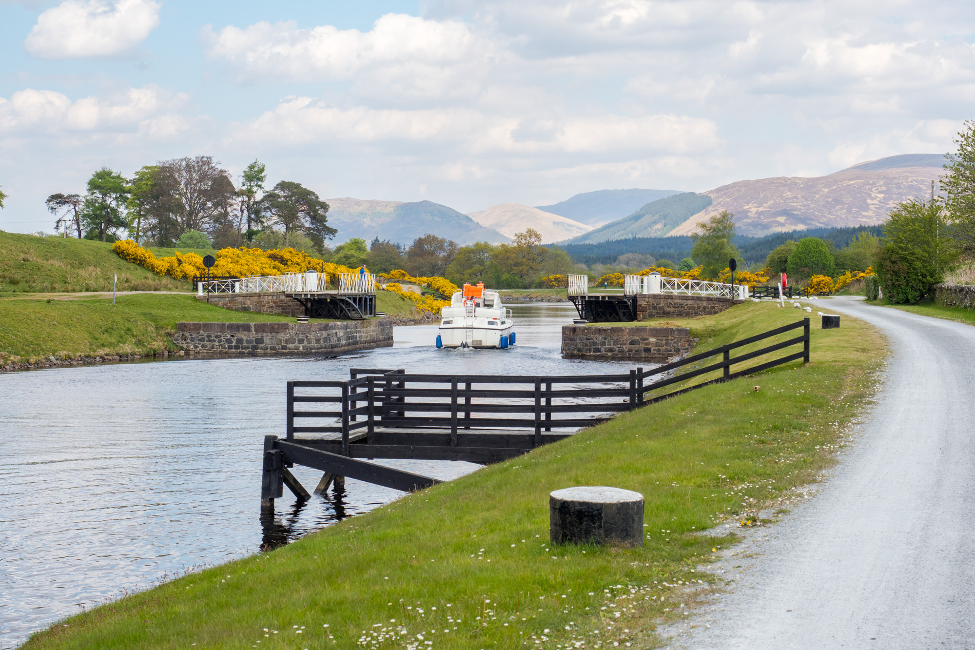 Great Glen Way - Caledonian Kanal