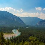 Banff Nationalpark - Blick vom Hoodoo View Point