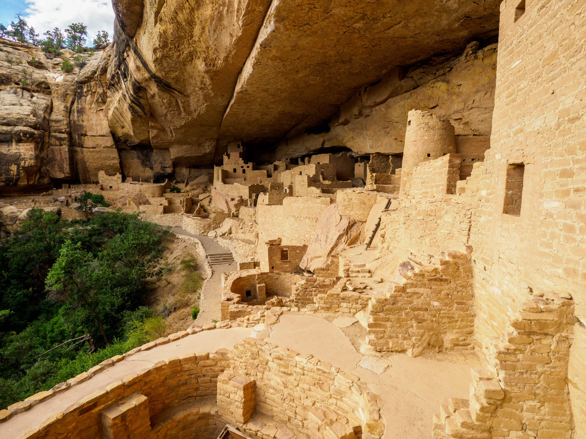 Mesa Verde Nationalpark - Cliff Palace