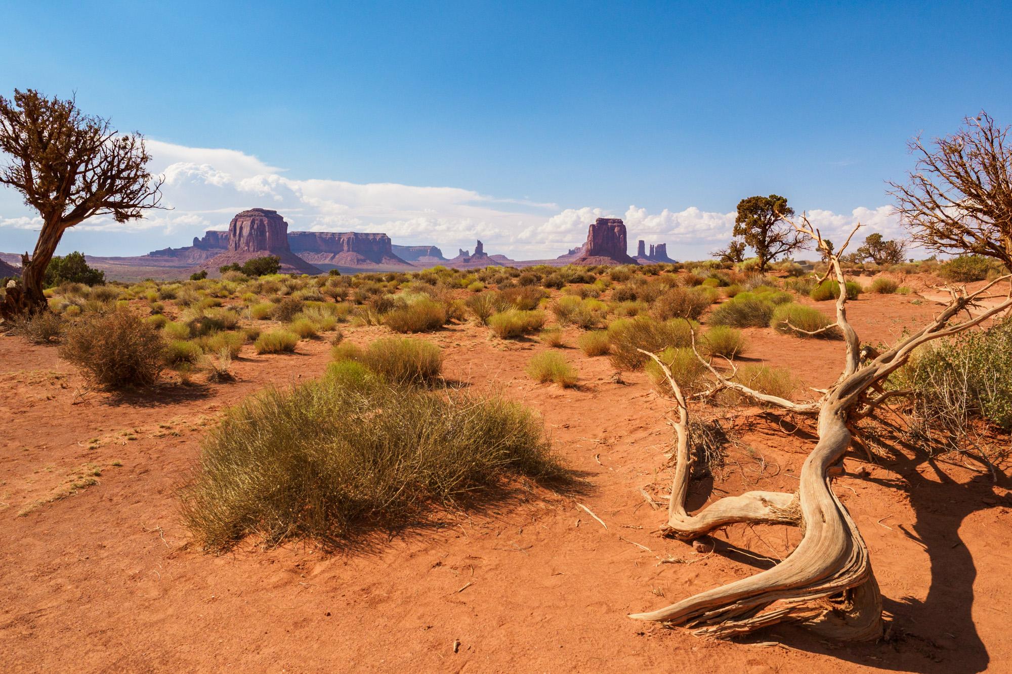Monument Valley - Wüstenlandschaft
