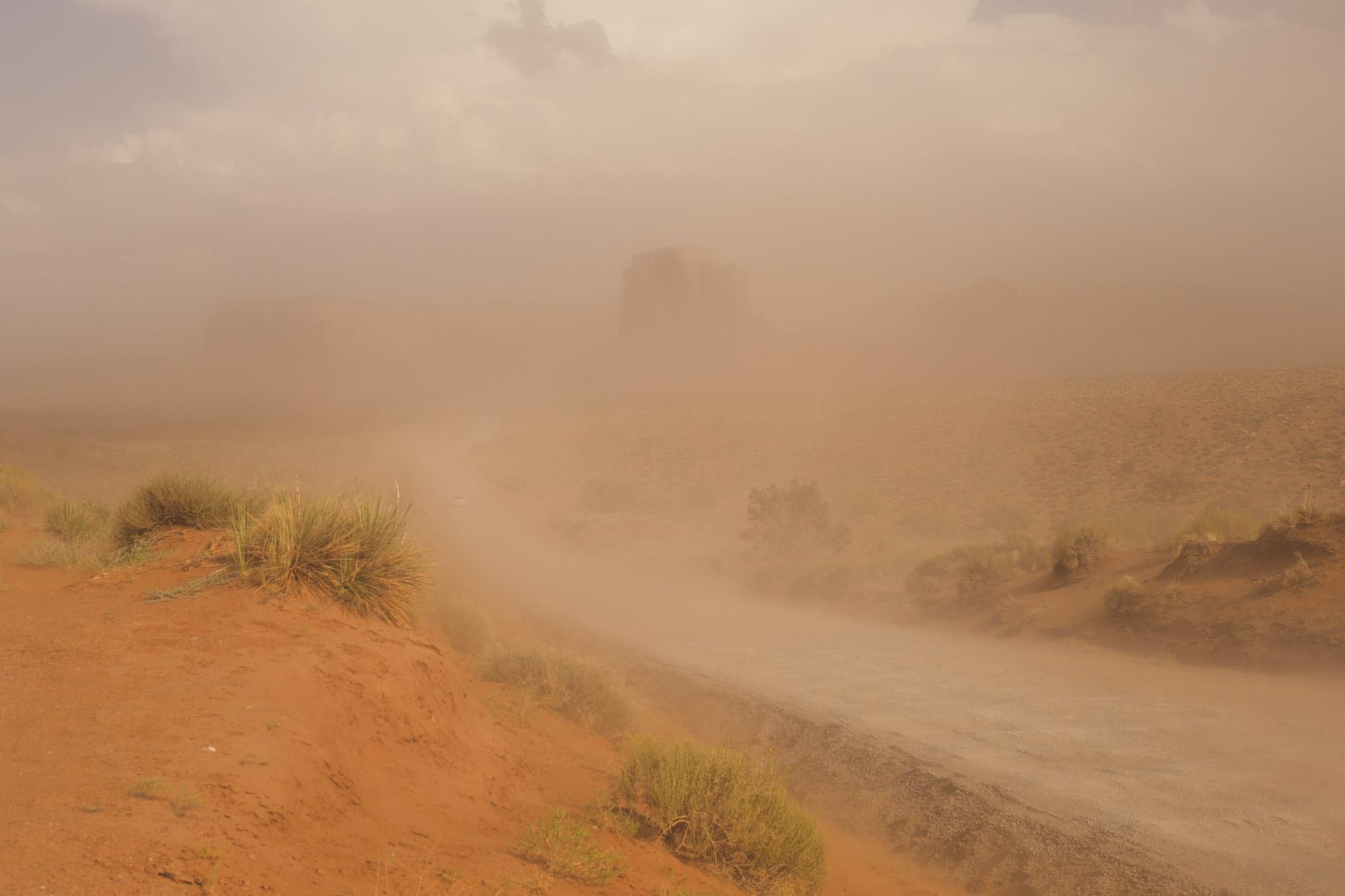 Monument Valley - Sandsturm