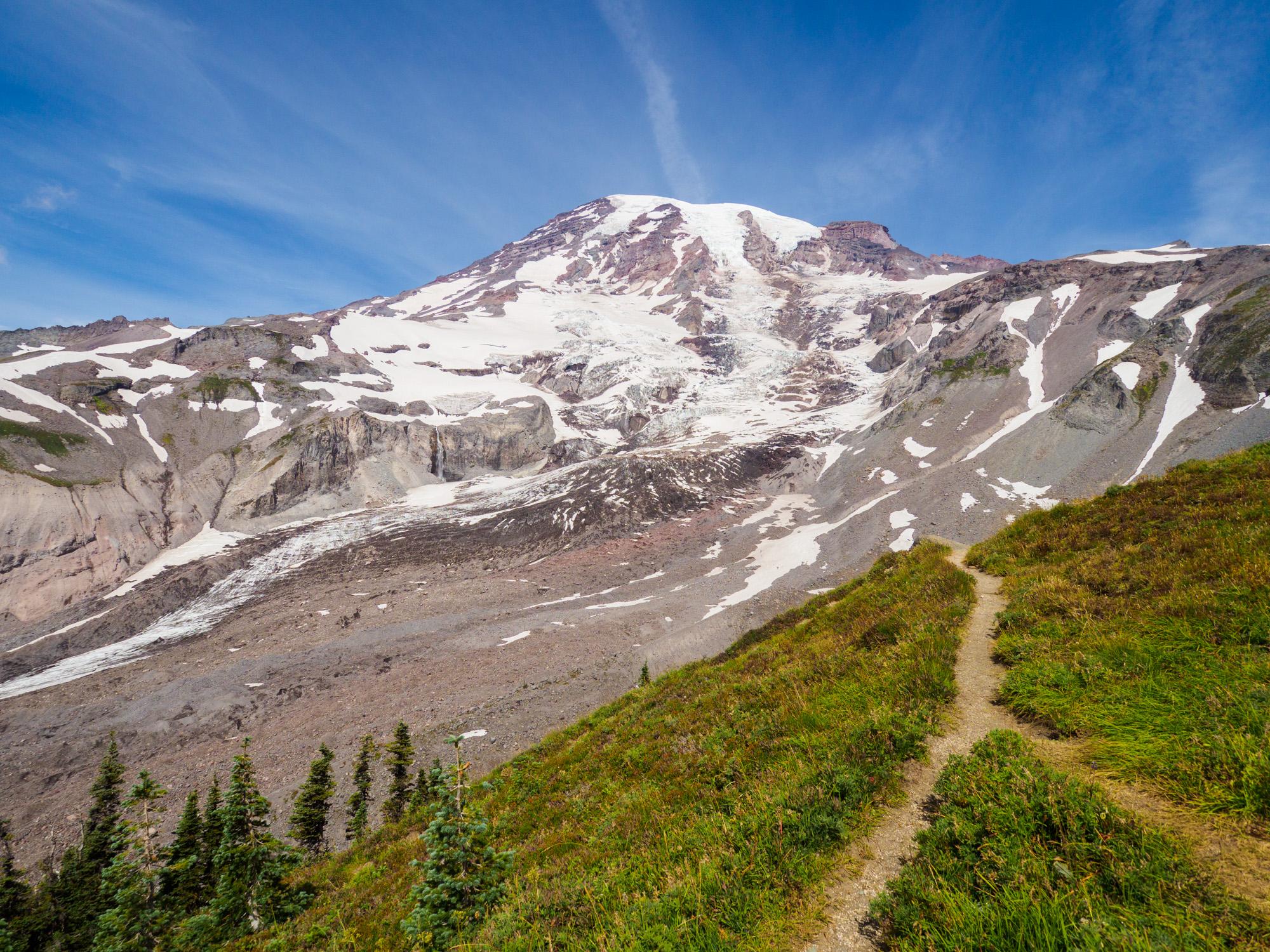 Mt Rainier Nationalpark - Skyline Trail bei Paradise