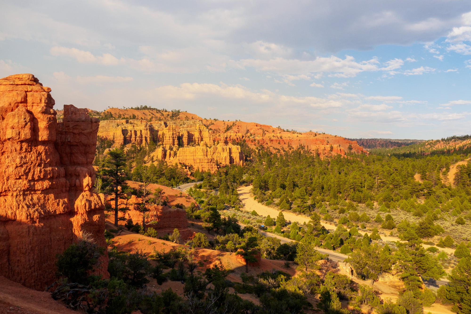 Red Canyon - Abendstimmung auf dem Photo Trail