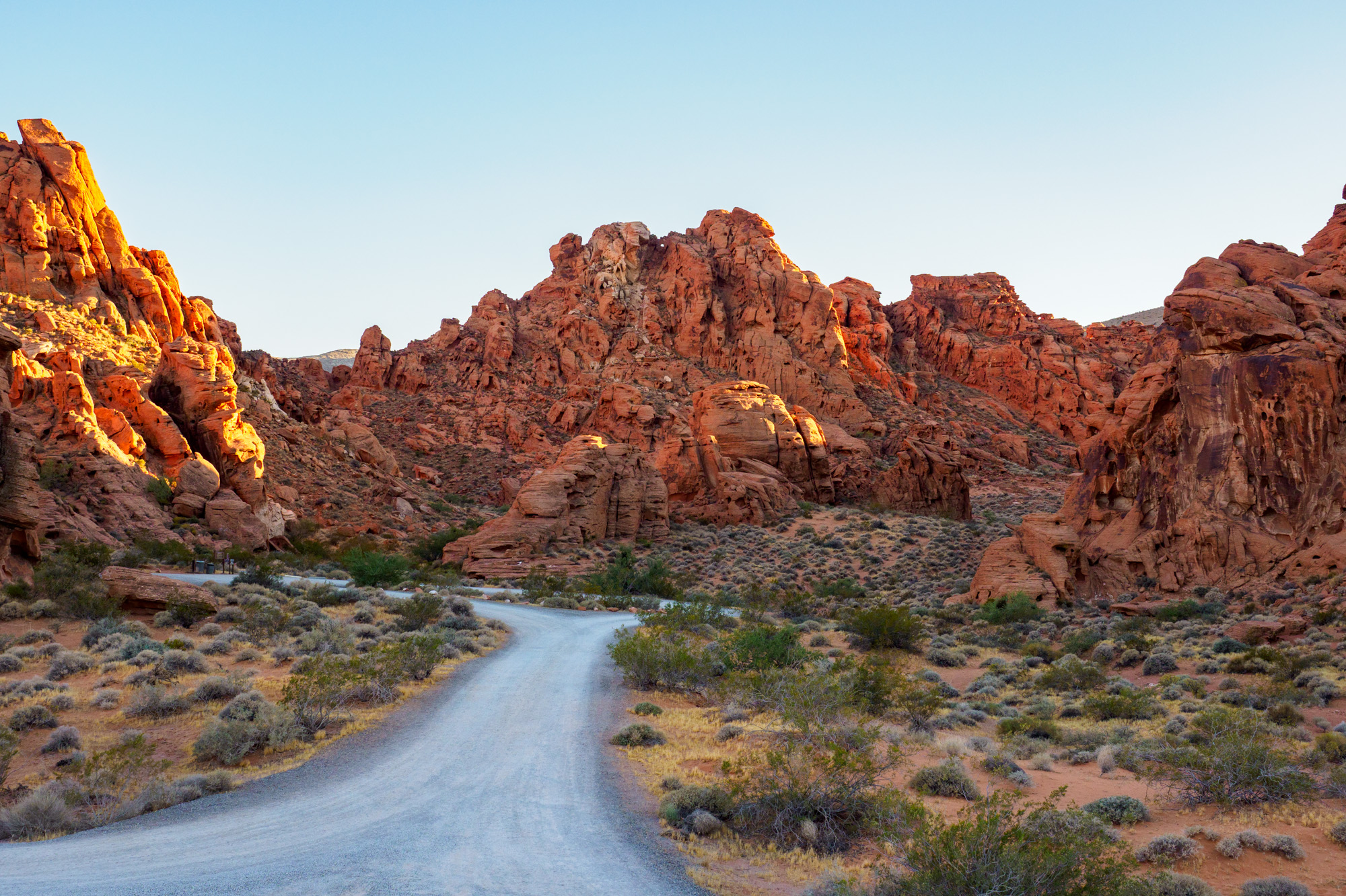 Valley of Fire State Park - Atlatl Rock Campground