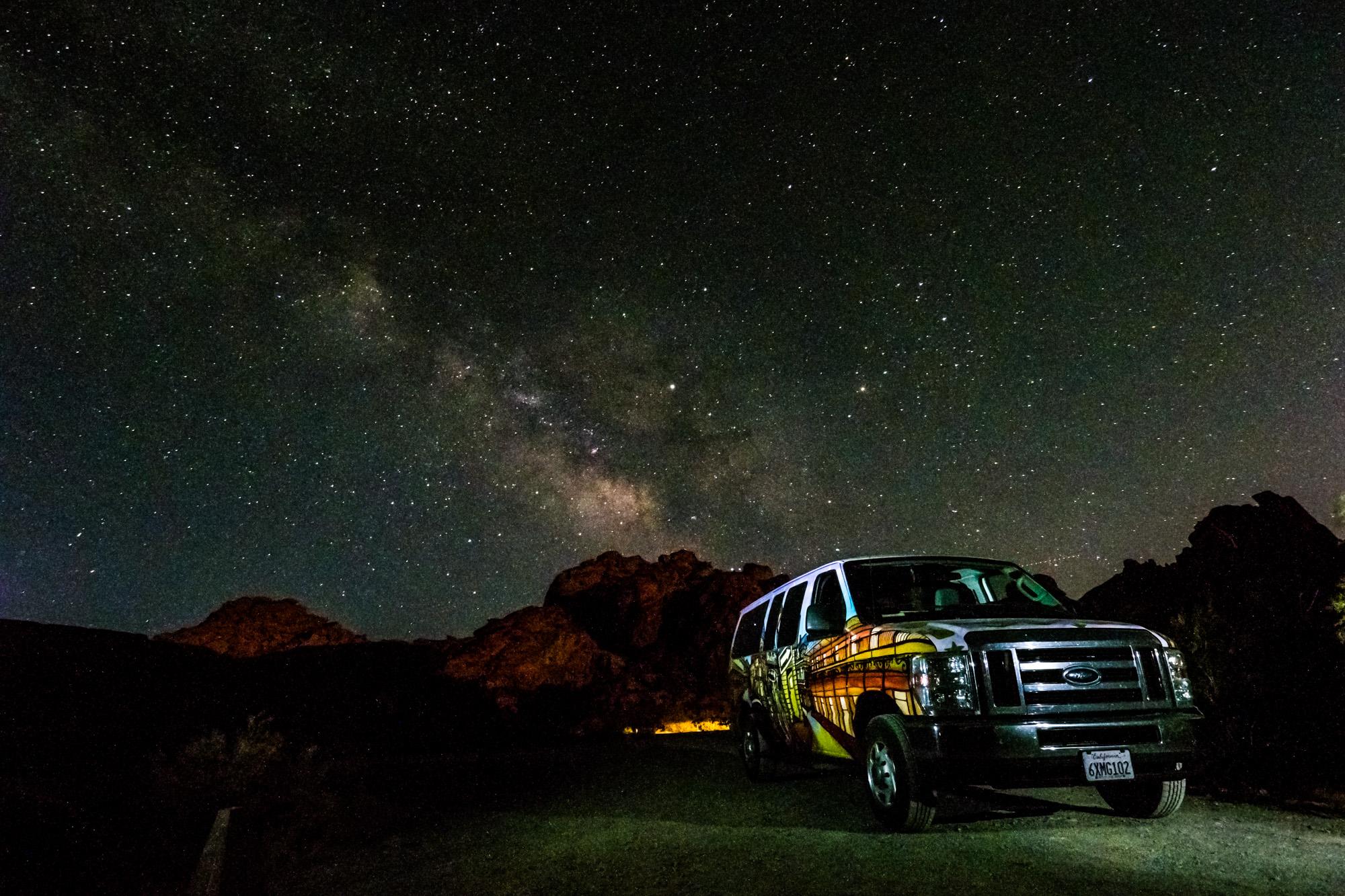 Valley of Fire State Park - Unser Millionen-Sterne-Hotel