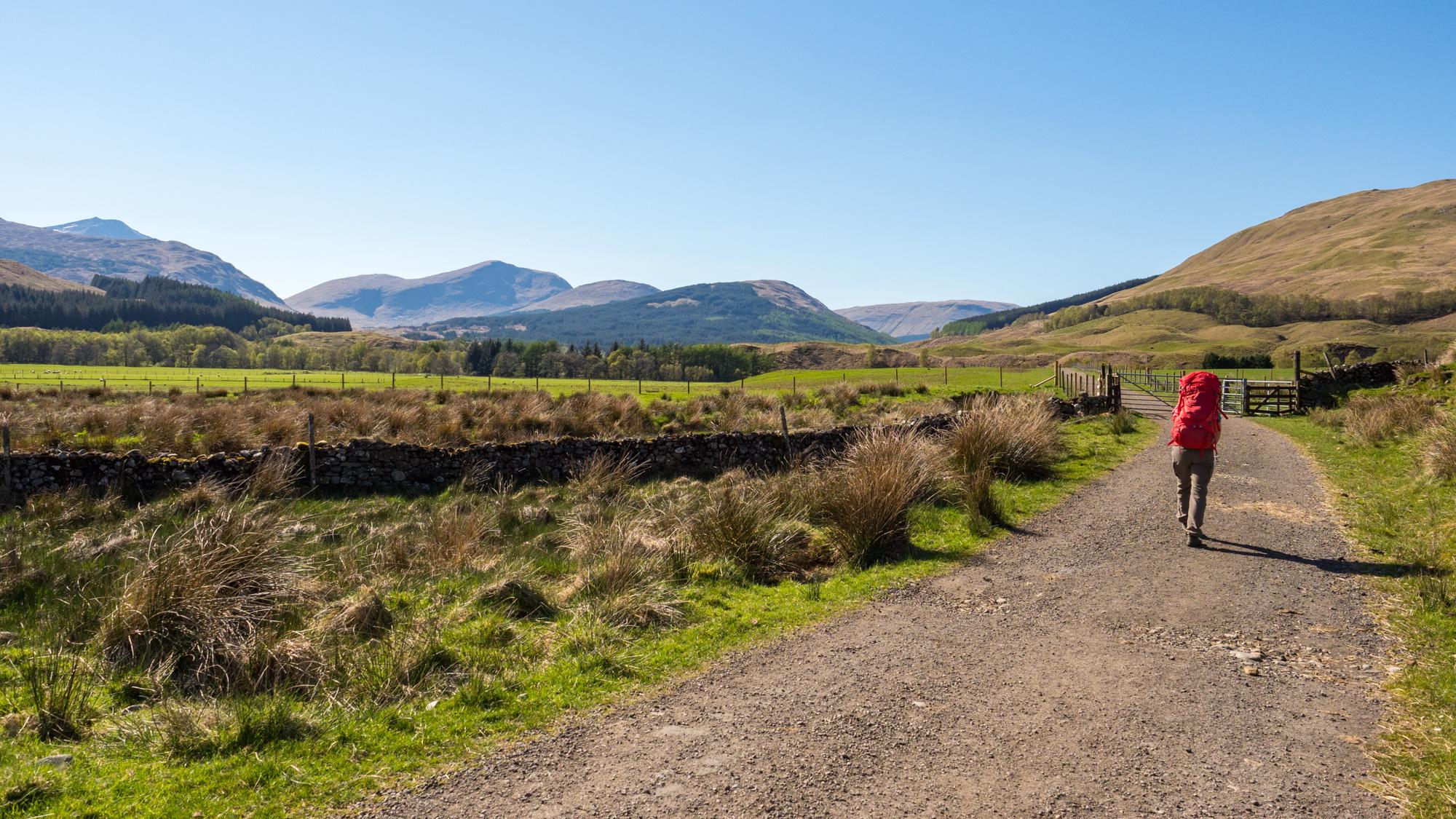 West Highland Way - Kurz vor Tyndrum