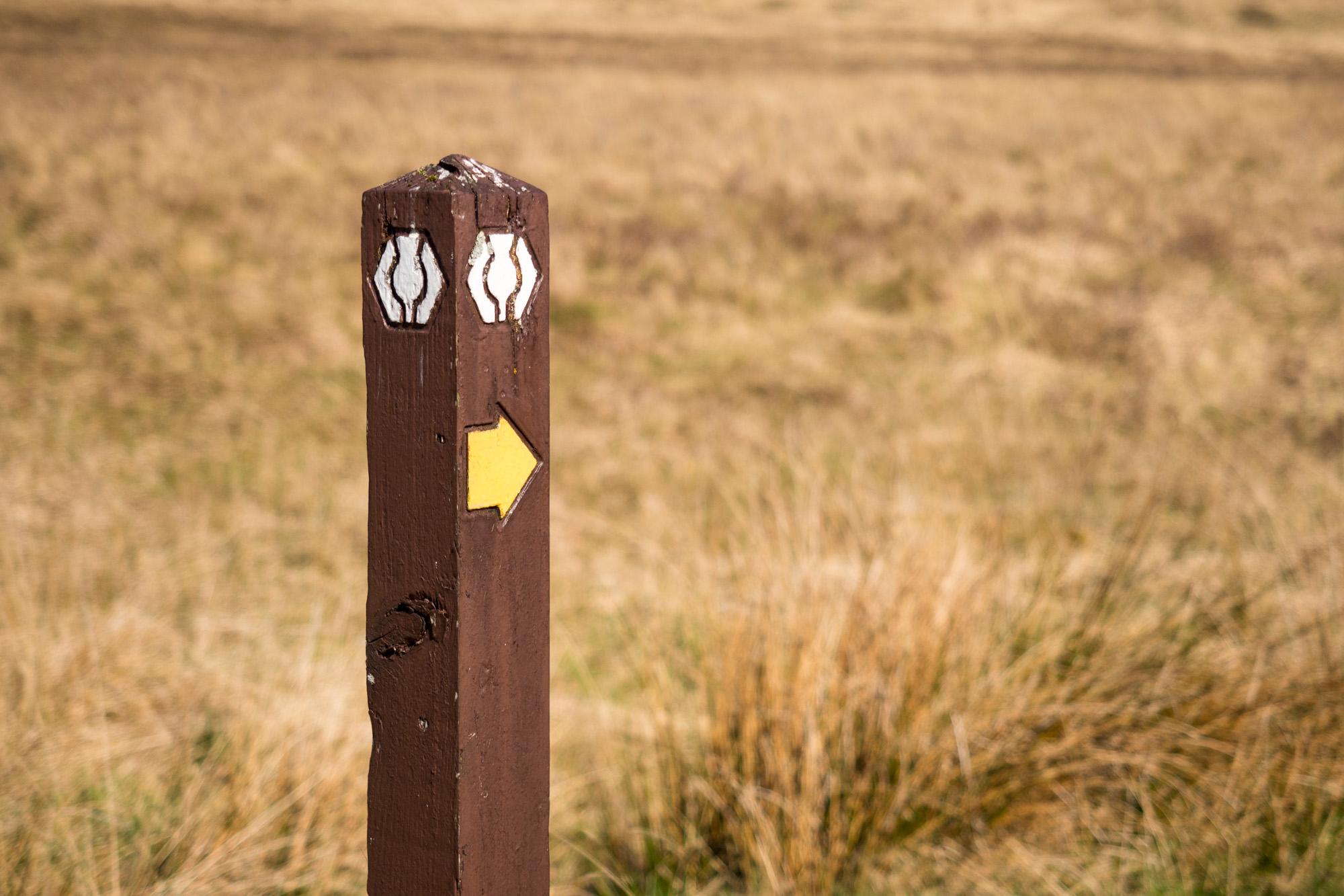 West Highland Way - Offizieller Wegweiser des West Highland Way