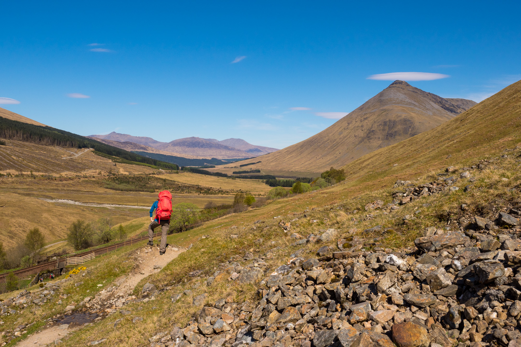 West Highland Way - Zwischen Tyndrum und Bridge of Orchy