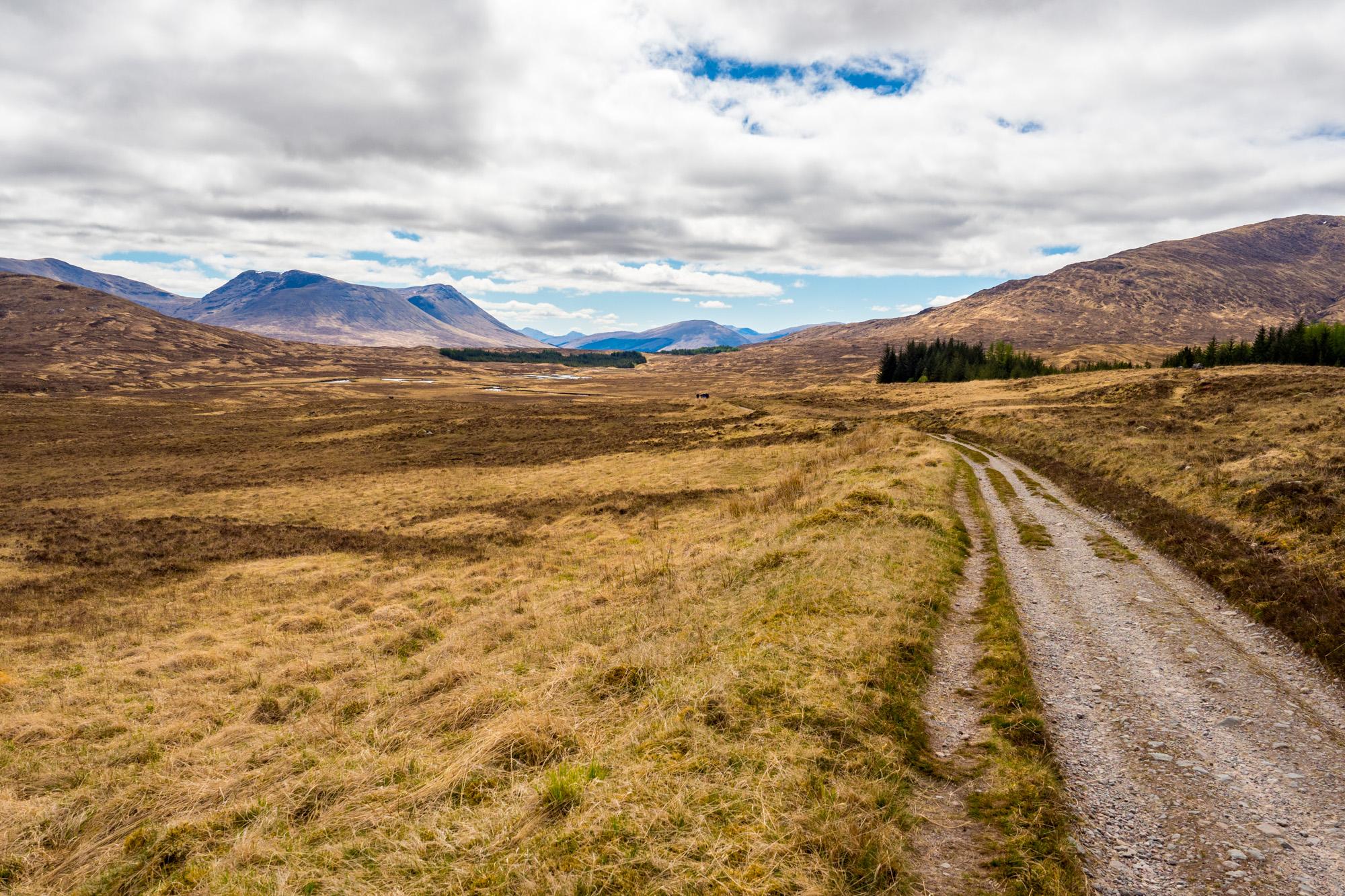West Highland Way - Zwischen Inveroran und Glencoe Mountain