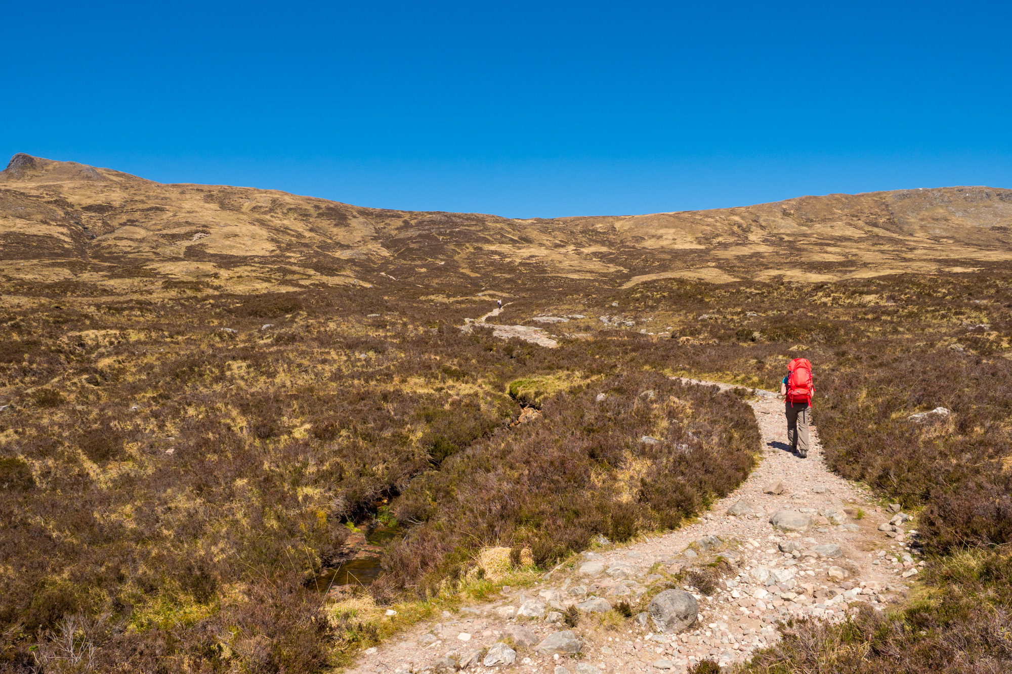 West Highland Way - Devils Staircase