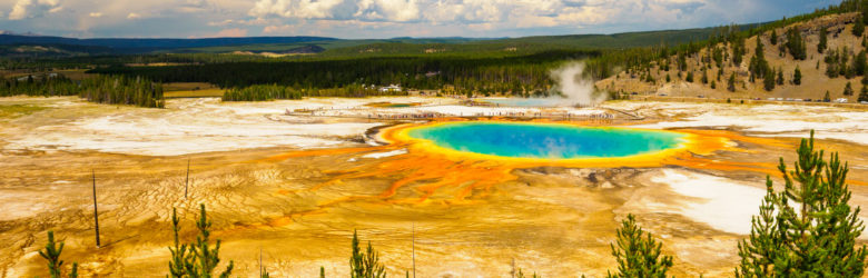 Yellowstone Nationalpark - Grand Prismatic Spring