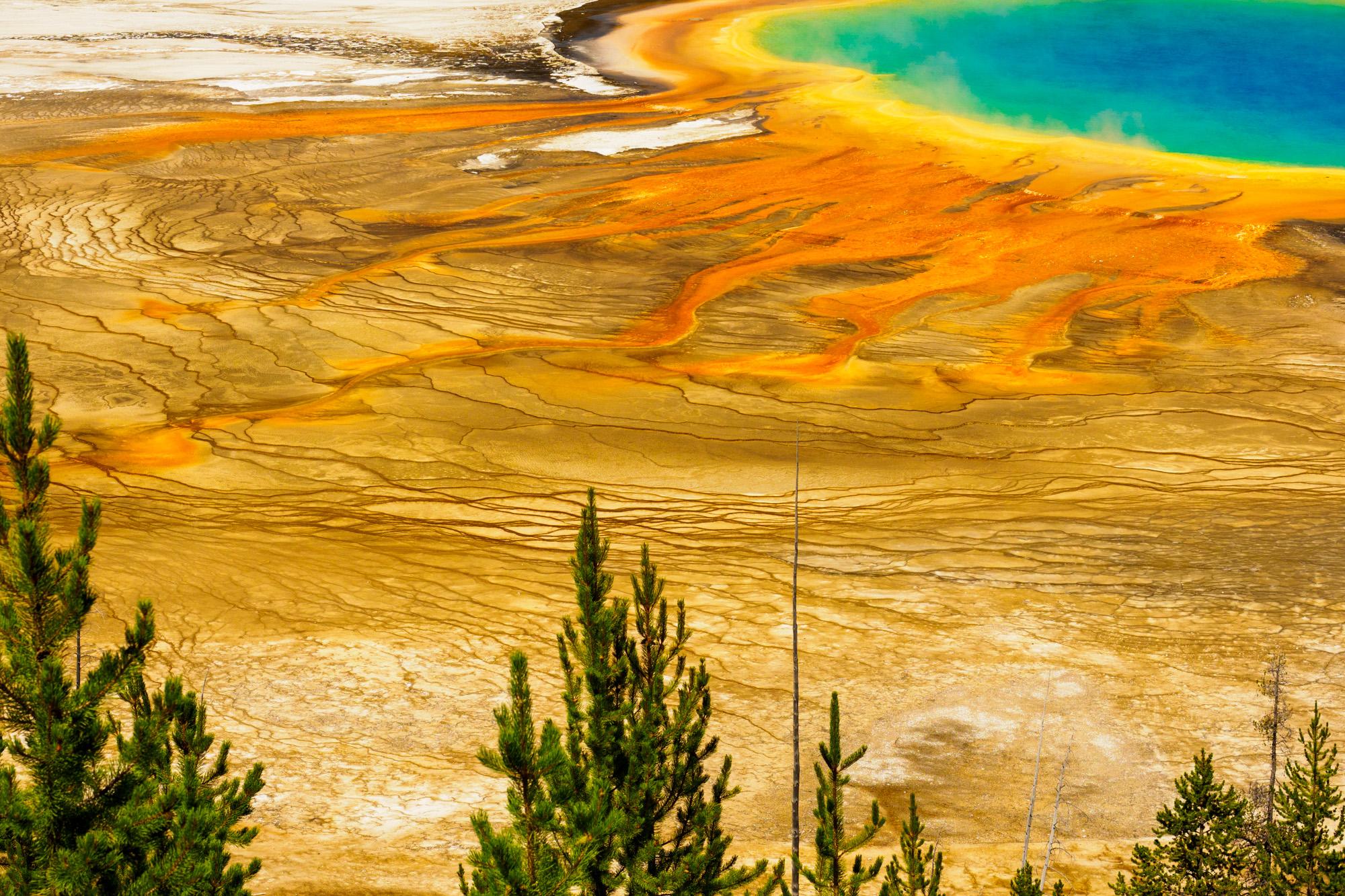 Yellowstone Nationalpark - Grand Prismatic Spring