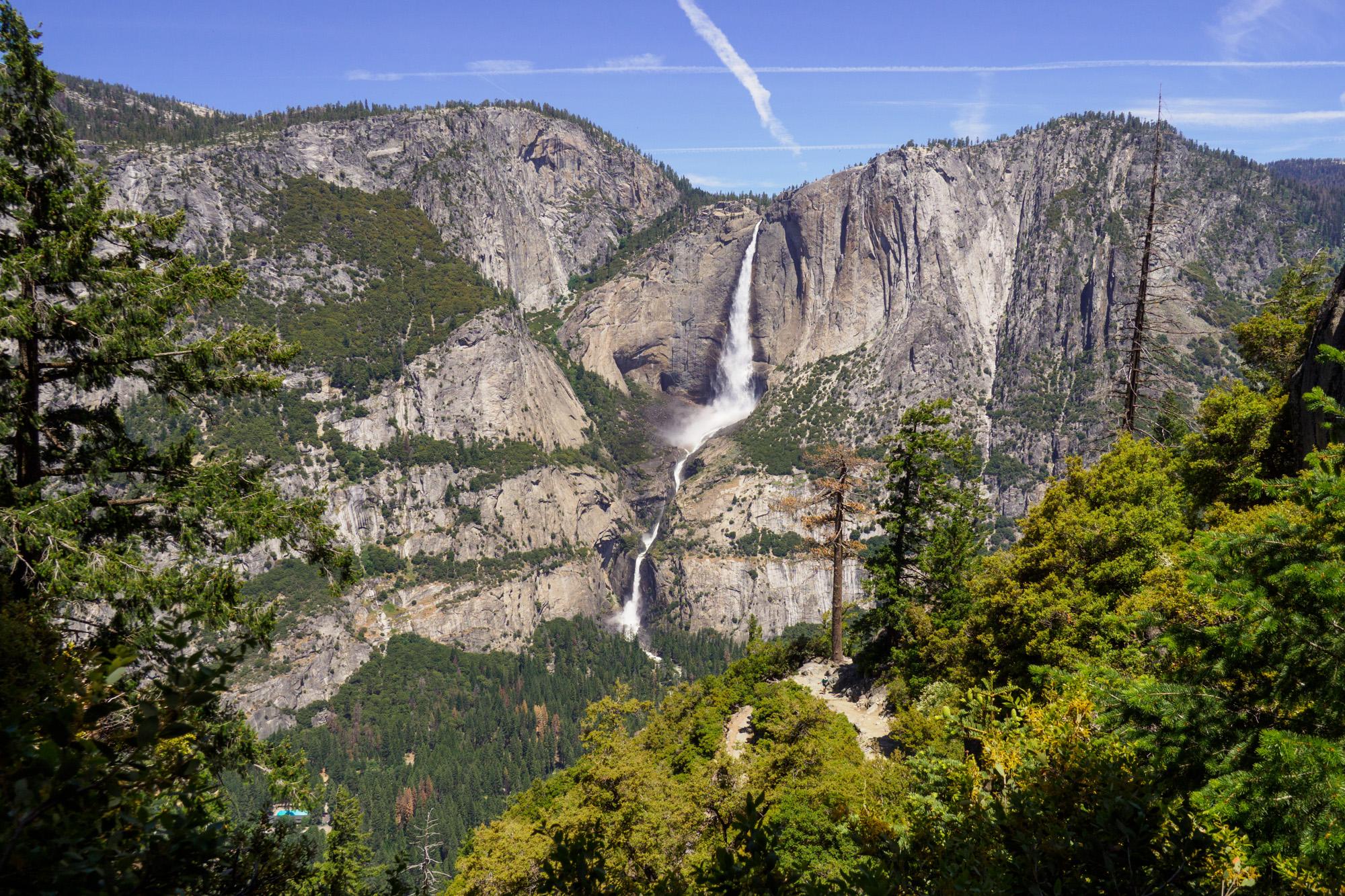 Yosemite Nationalpark - Aussicht vom 4 Miles Trail auf den Yosemite Fall