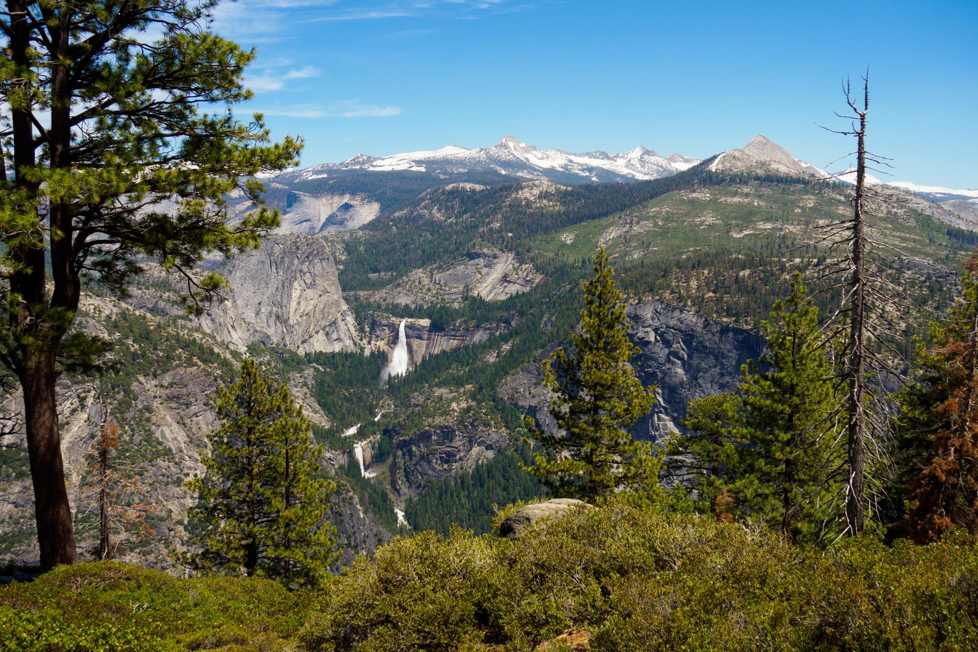 Yosemite Nationalpark - Aussicht vom Glacier Point auf den Nevada Fall