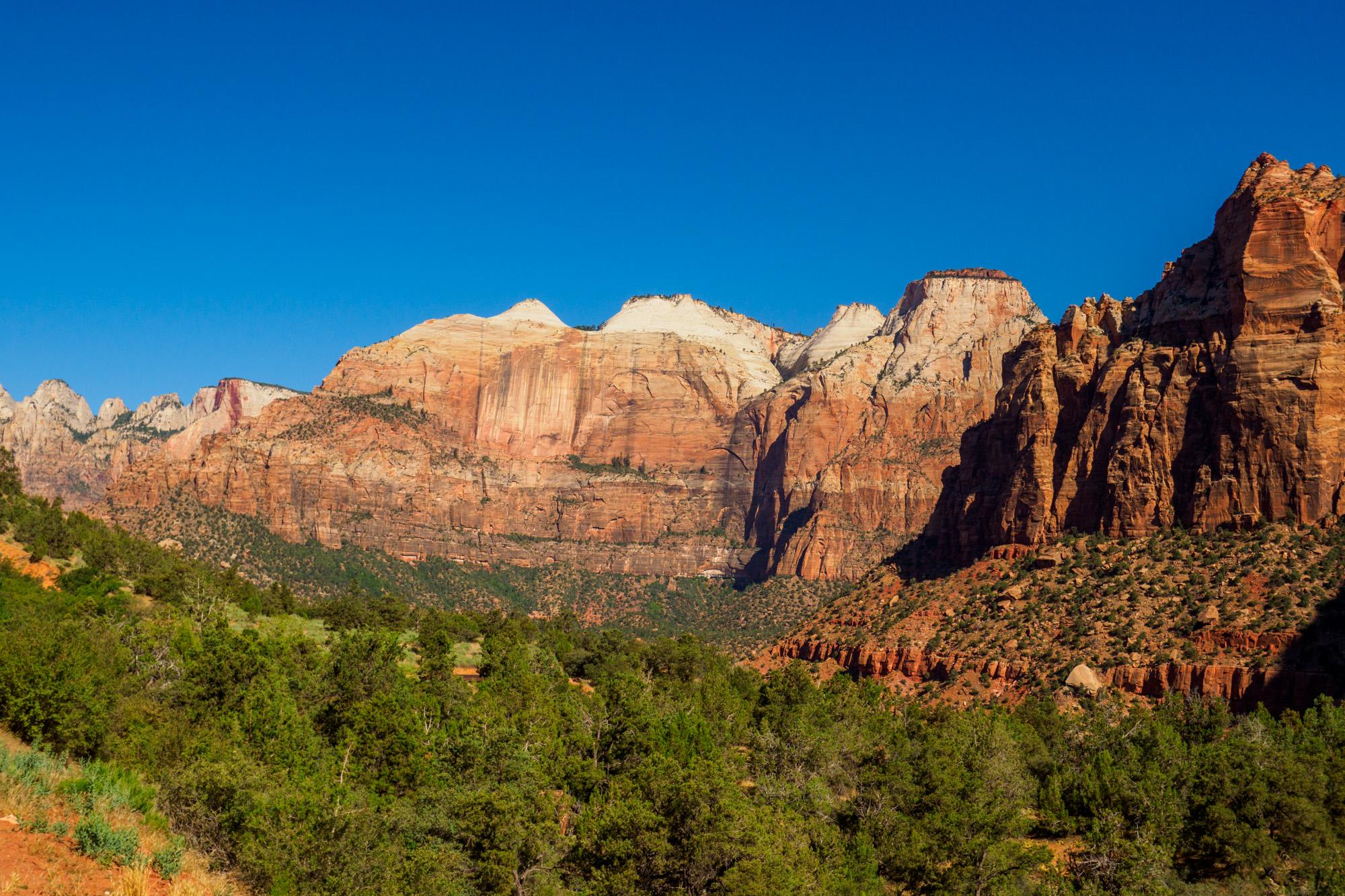 Zion Nationalpark - Zion Canyon