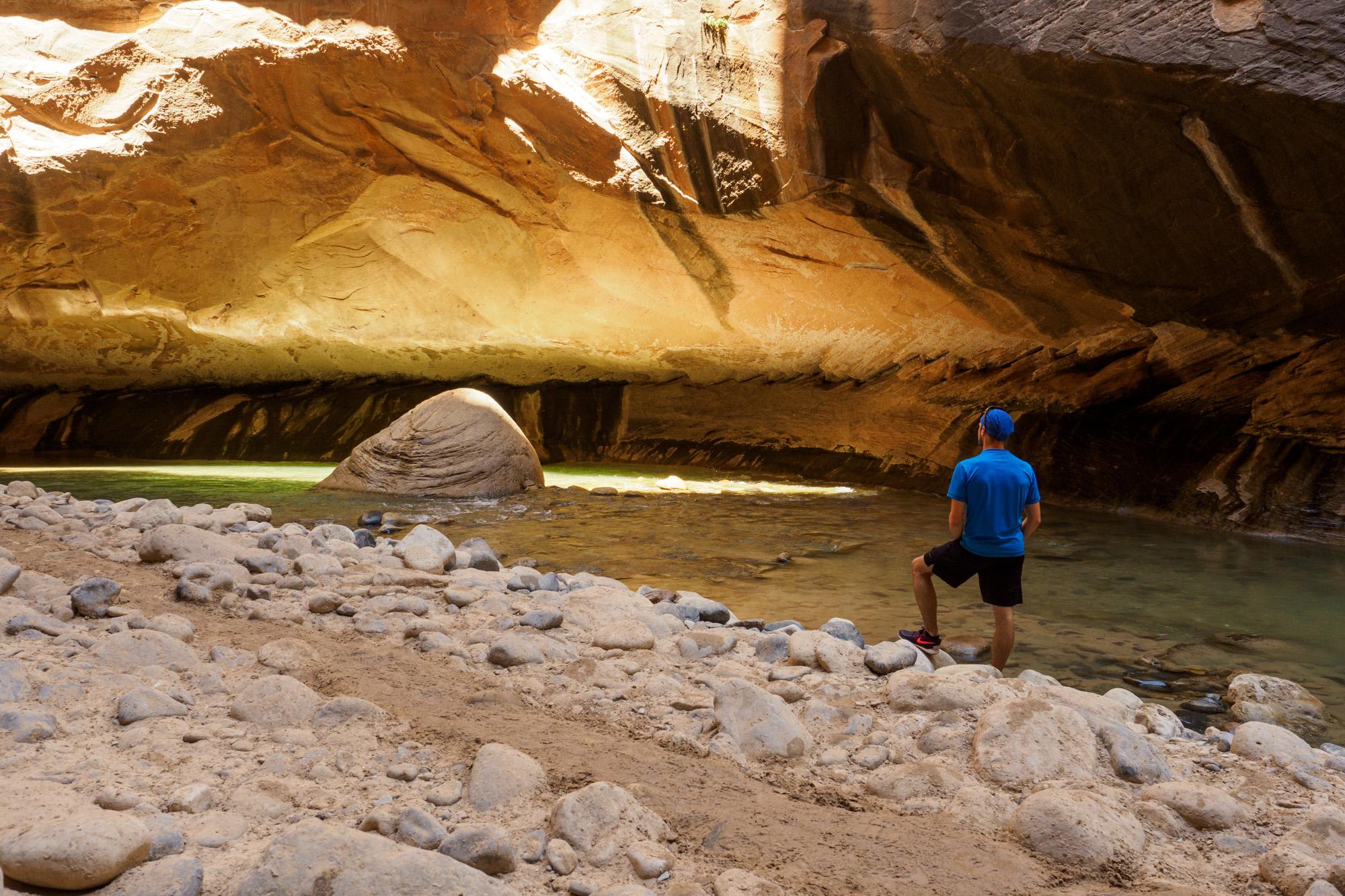 Zion Nationalpark - In den Narrows