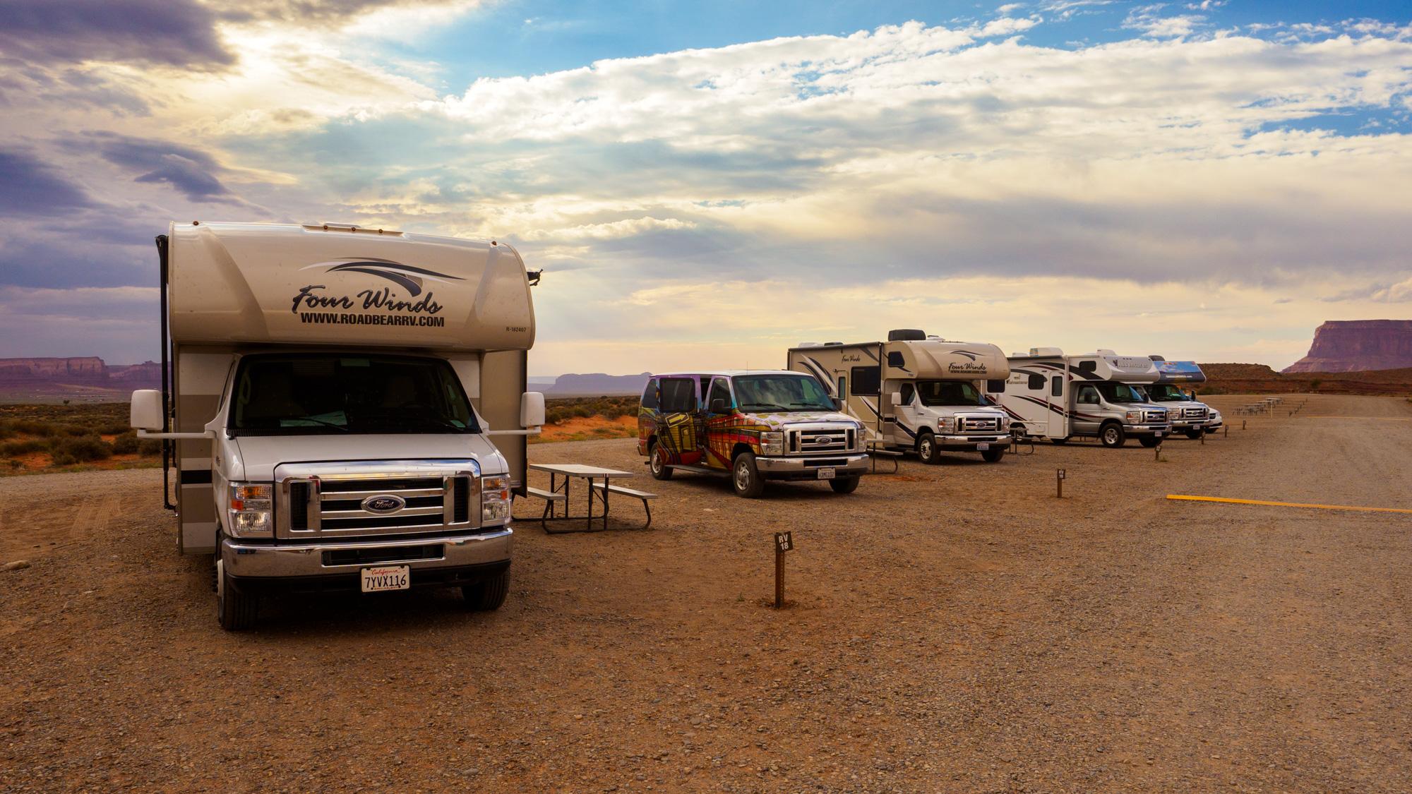 Monument Valley - Stellplatz