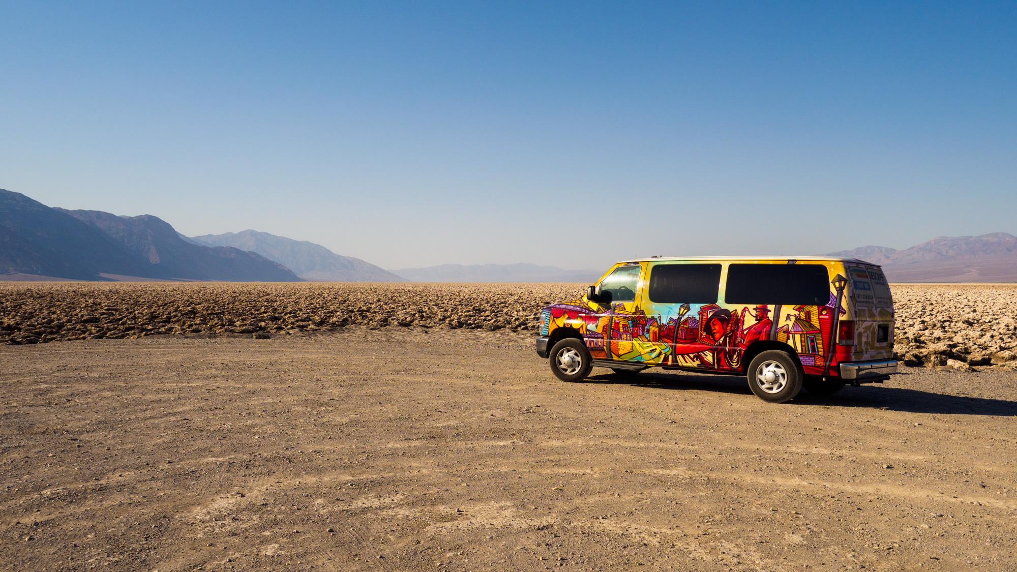 Death Valley Nationalpark - Devils Golfcourse