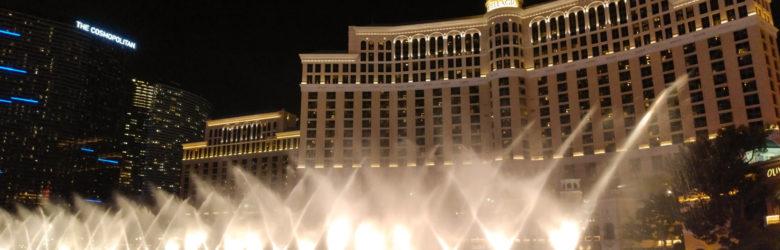 Las Vegas - Wasserspiel vor dem Bellagio