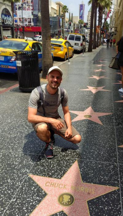 Los Angeles - Walk of Fame auf dem Hollywood Boulevard
