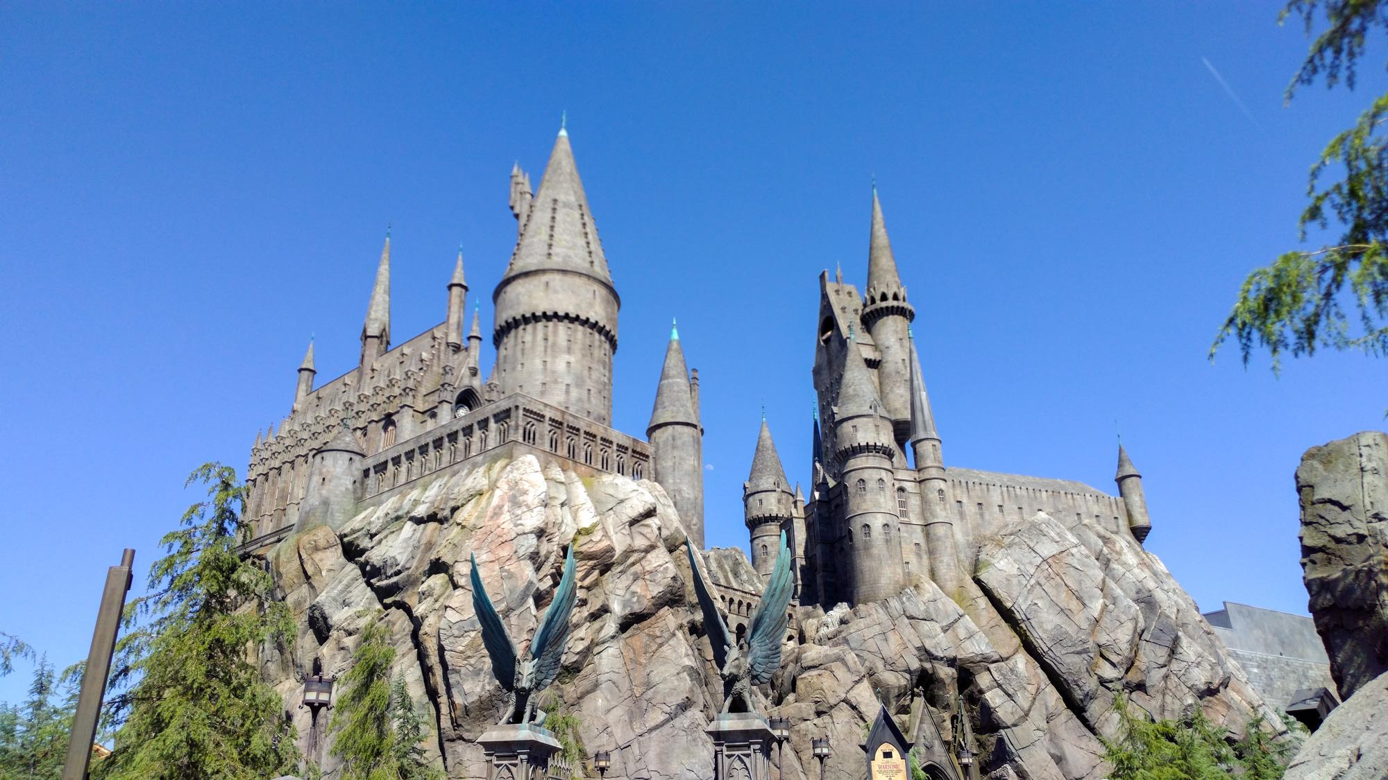 Los Angeles - Universal Studios - Hogwarts