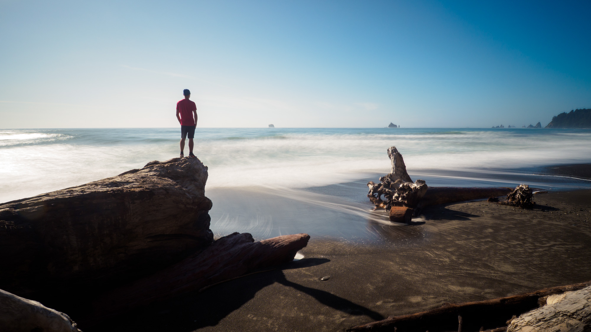 Olympic Nationalpark - Rialto Beach