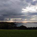 Auckland - Blick auf die Skyline von Auckland