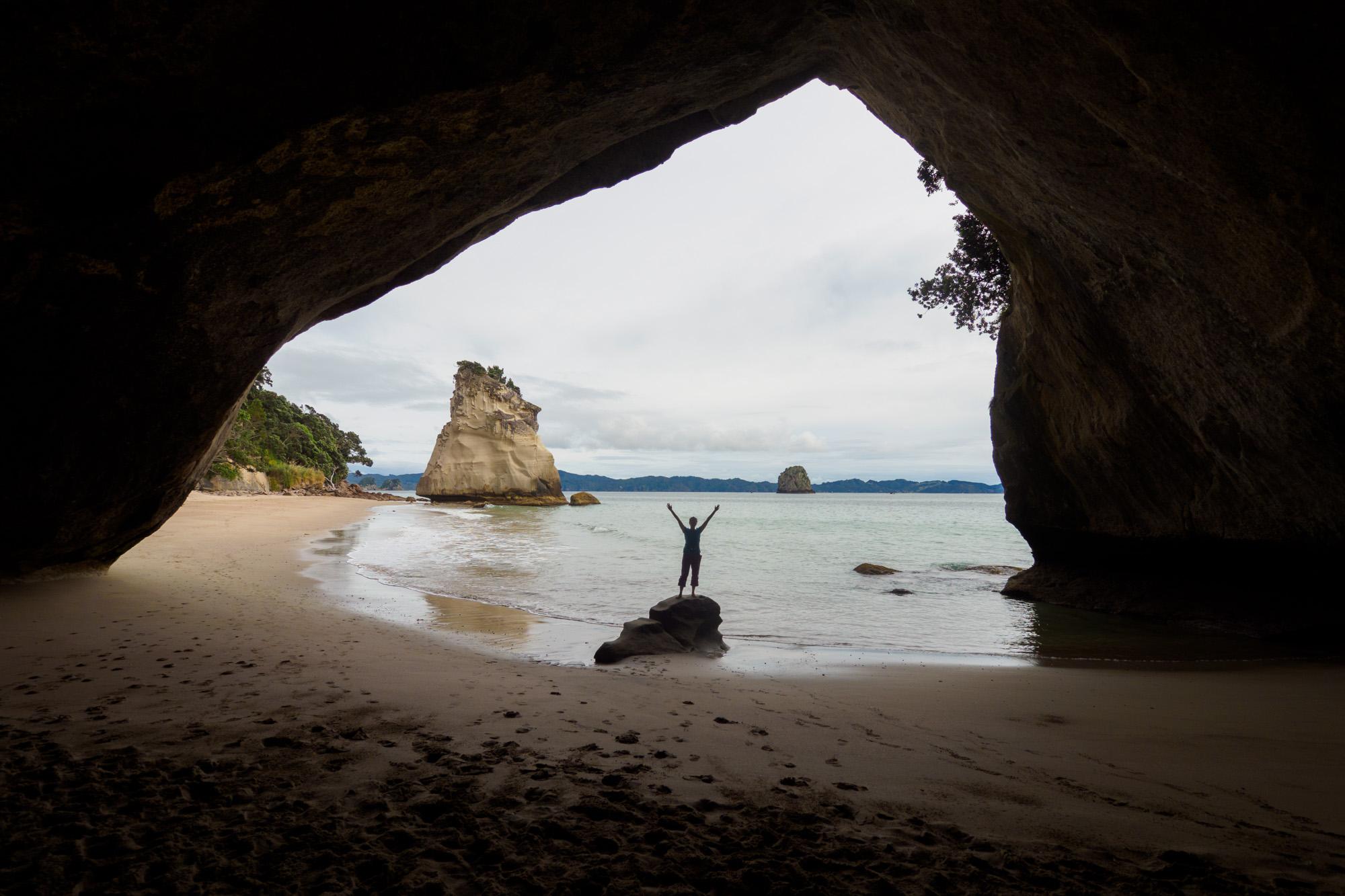 Coromandel - Cathedral Cove