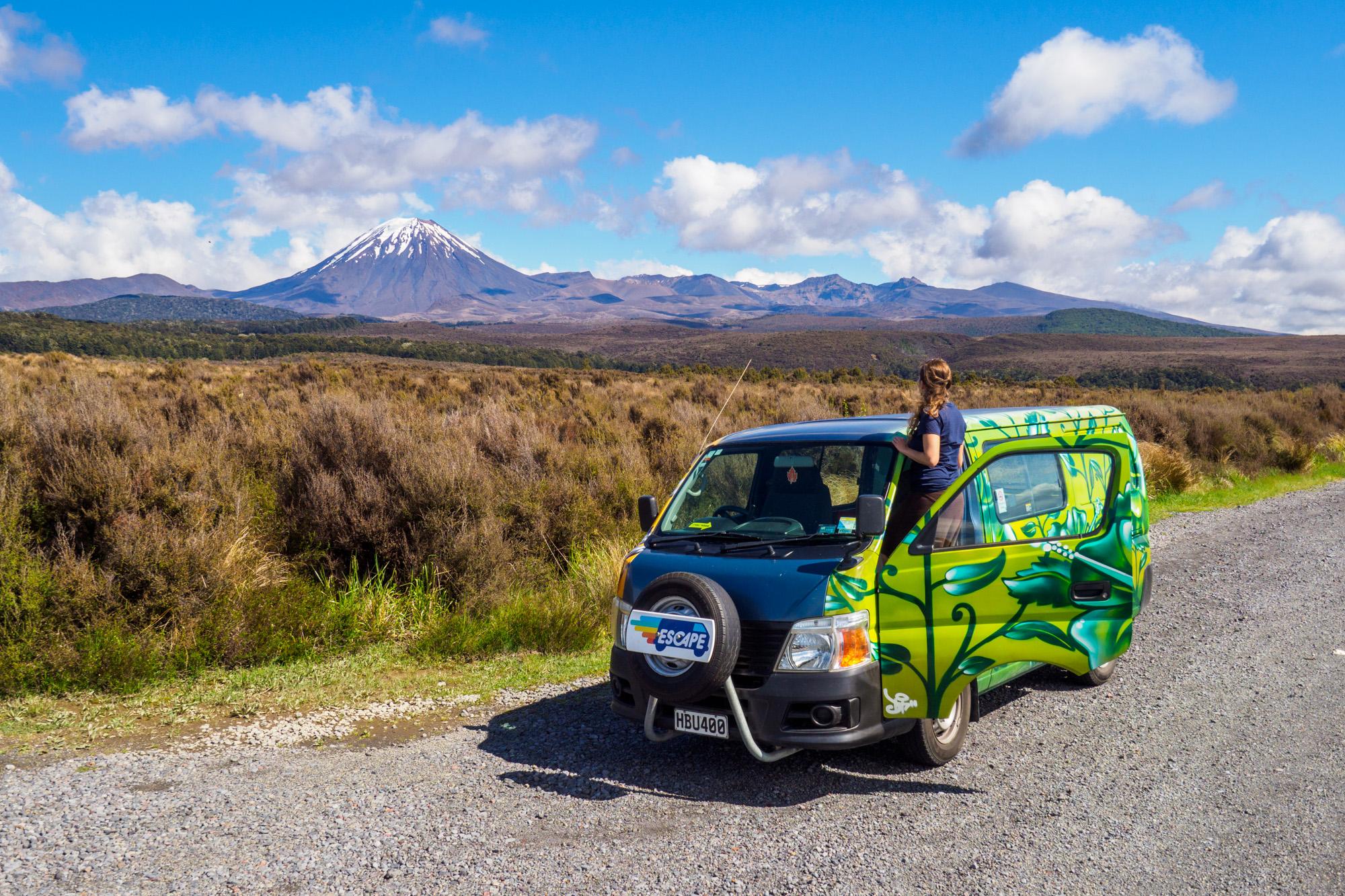 Tongariro - Mt Ngauruhoe