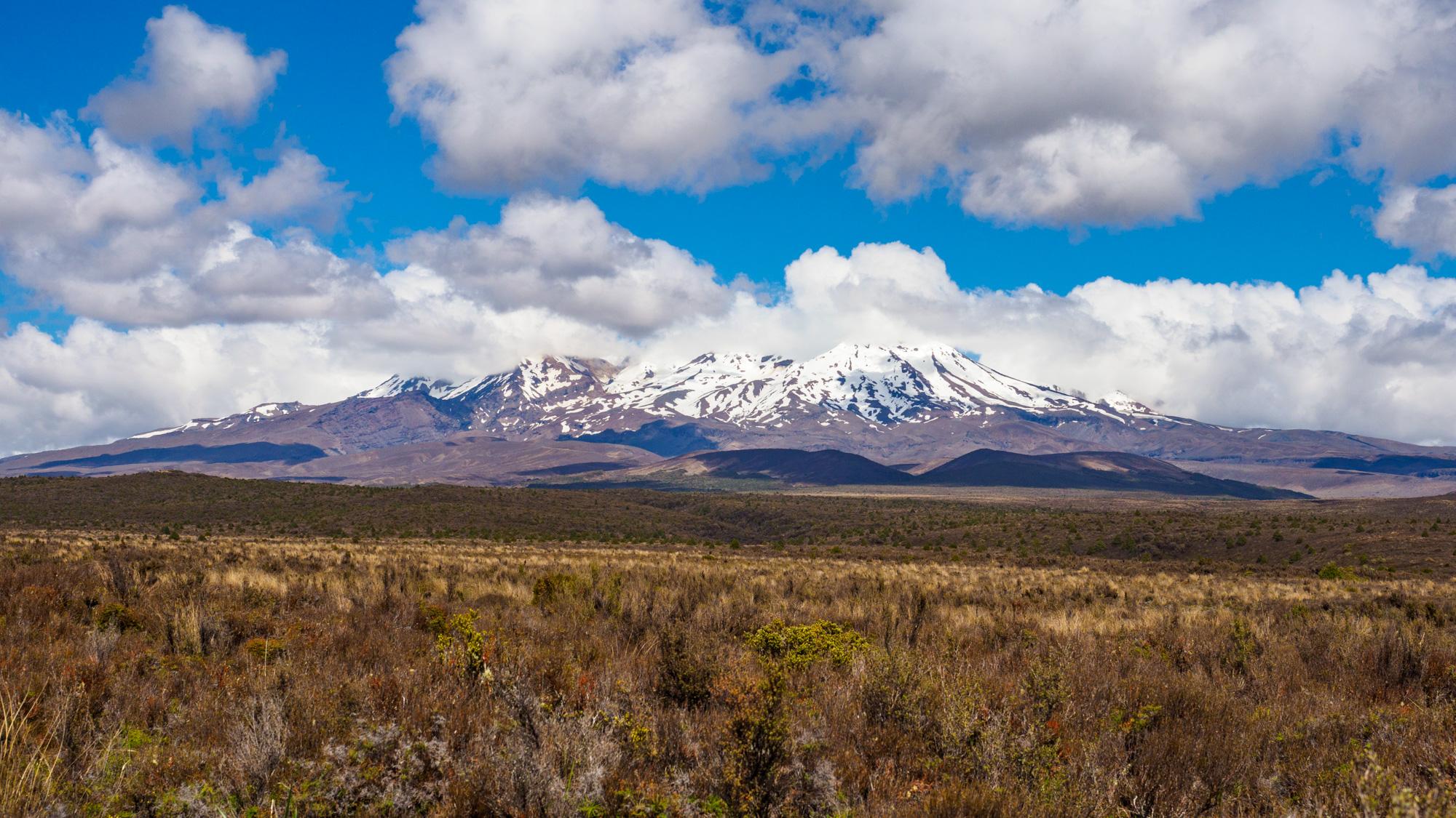 Tongariro - Mt Ruapehu