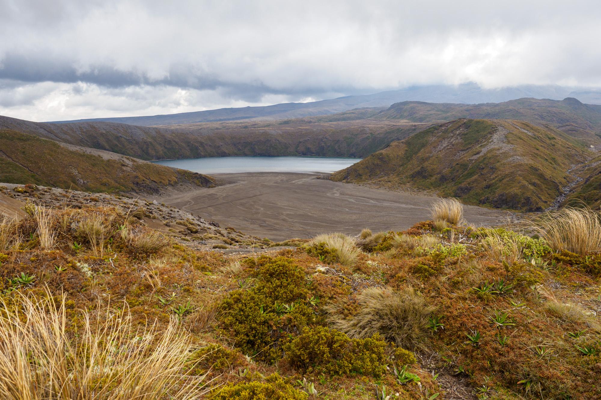 Tongariro - Lower Tama Lake