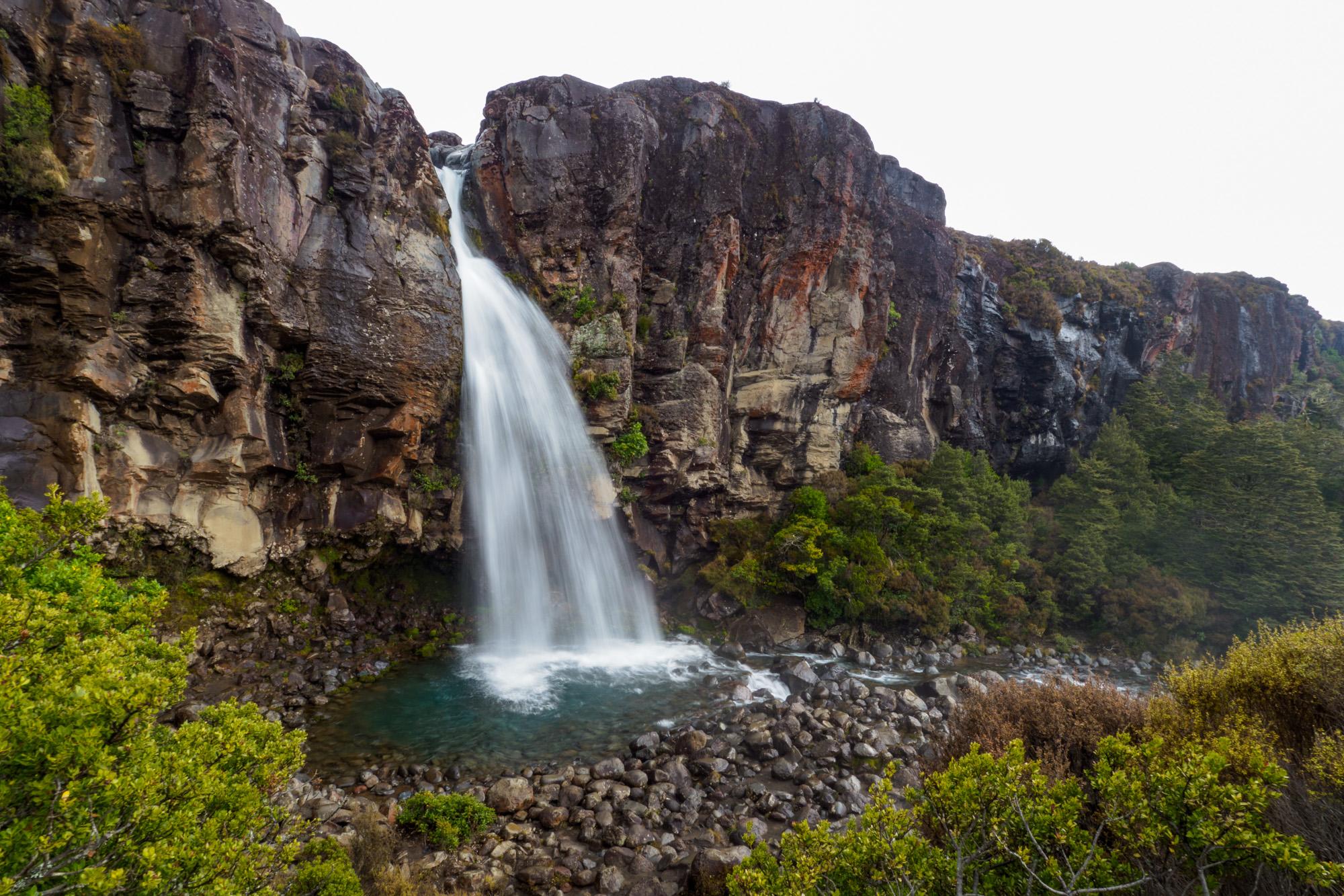 Tongariro - Taranaki Wasserfall