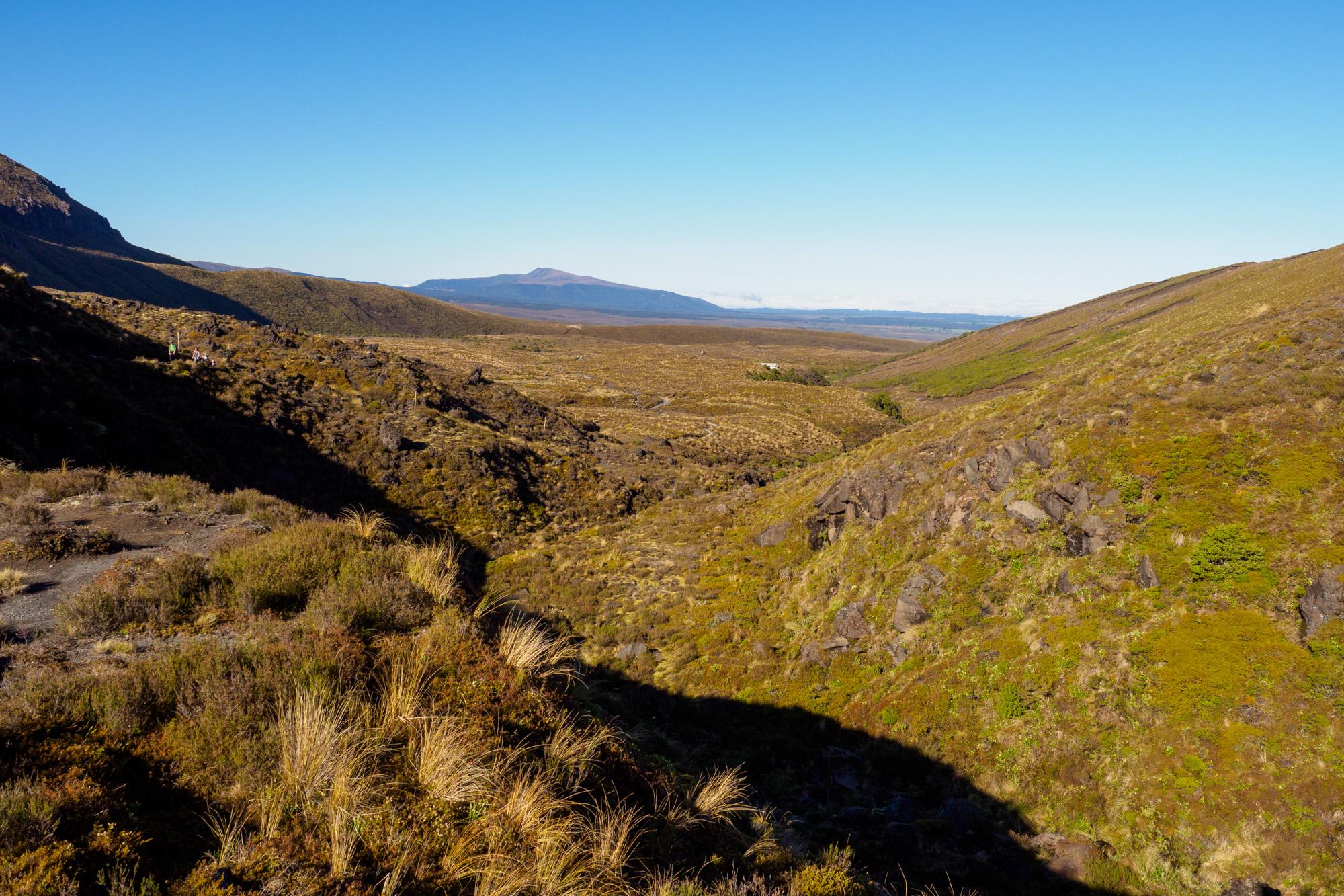 Tongariro - Start des Tongariro Alpine Crossing